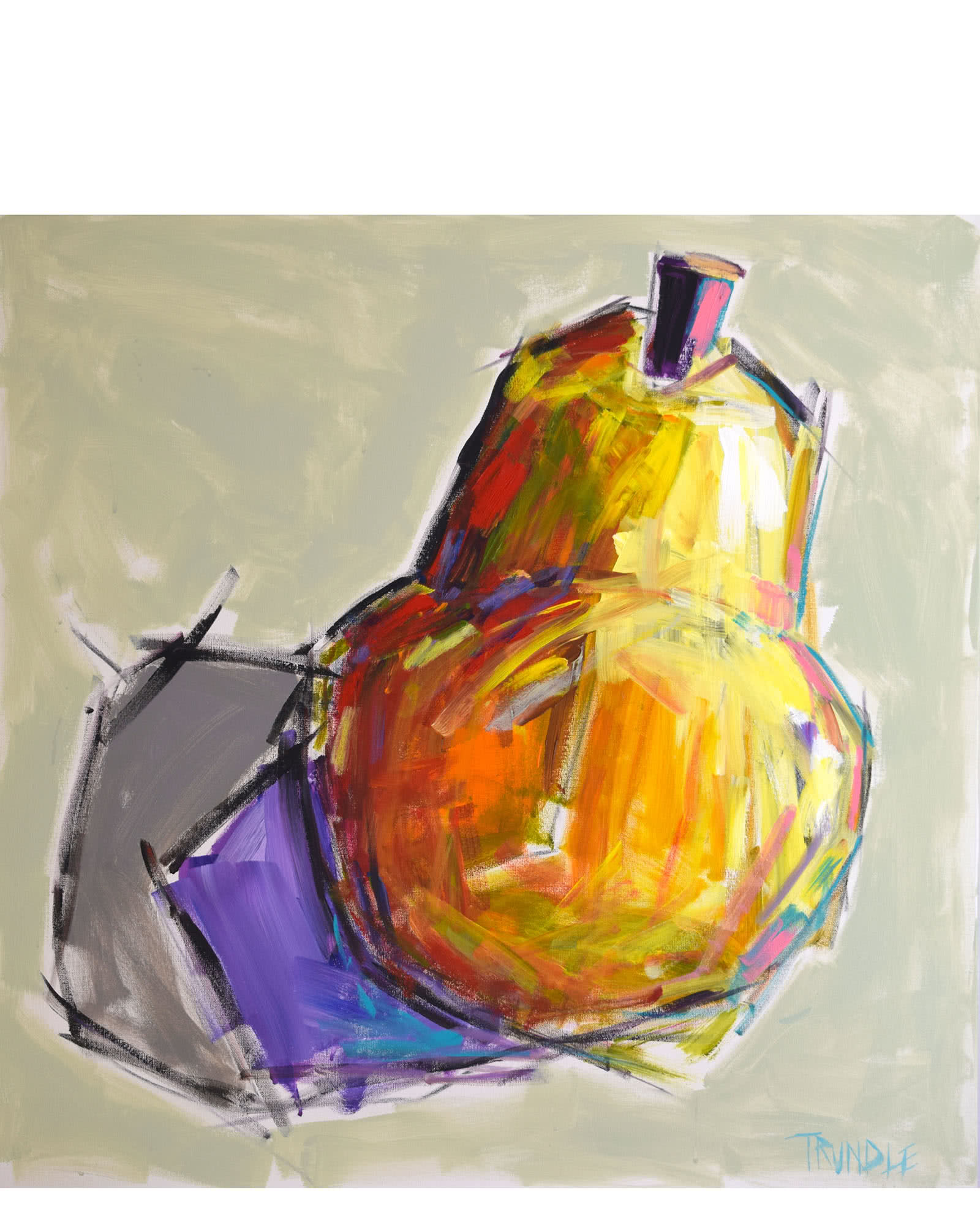 """""""A Pear"""" by Sarah Trundle"""