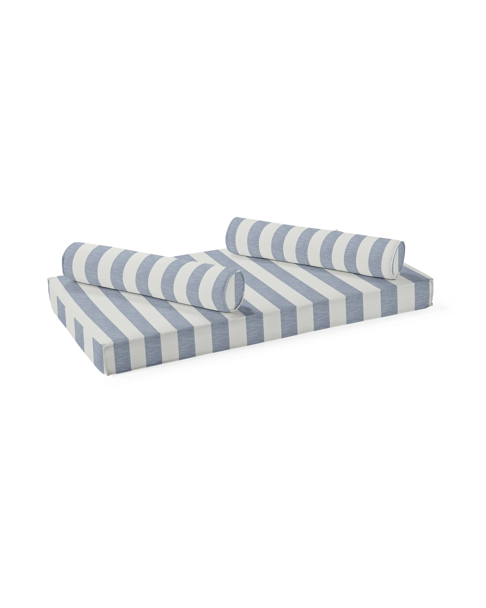 Daybed Mattress & Bolsters, Beach Stripe Navy