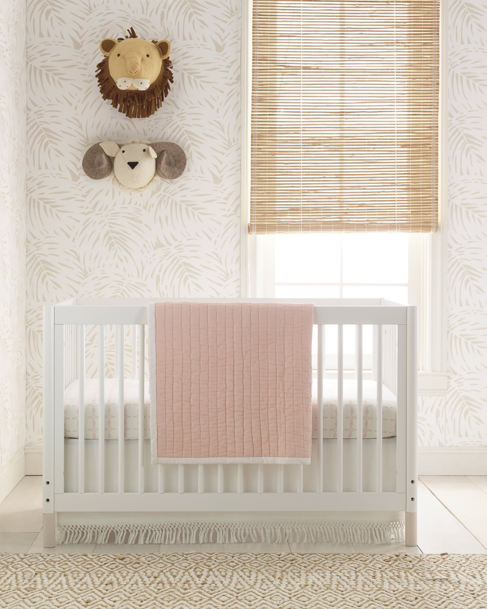 Macramé Crib Skirt