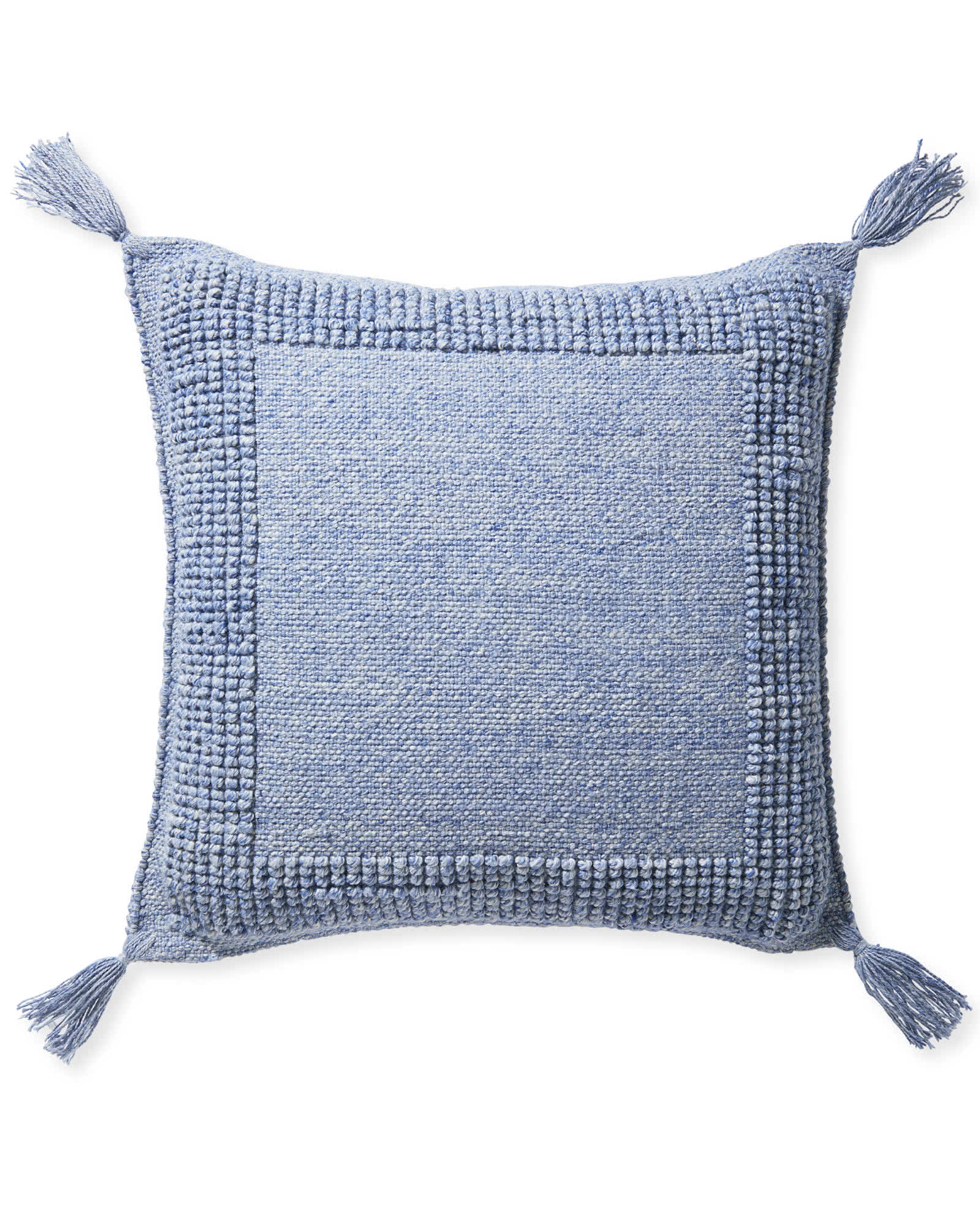 Montecito Floor Pillow, Coastal Blue