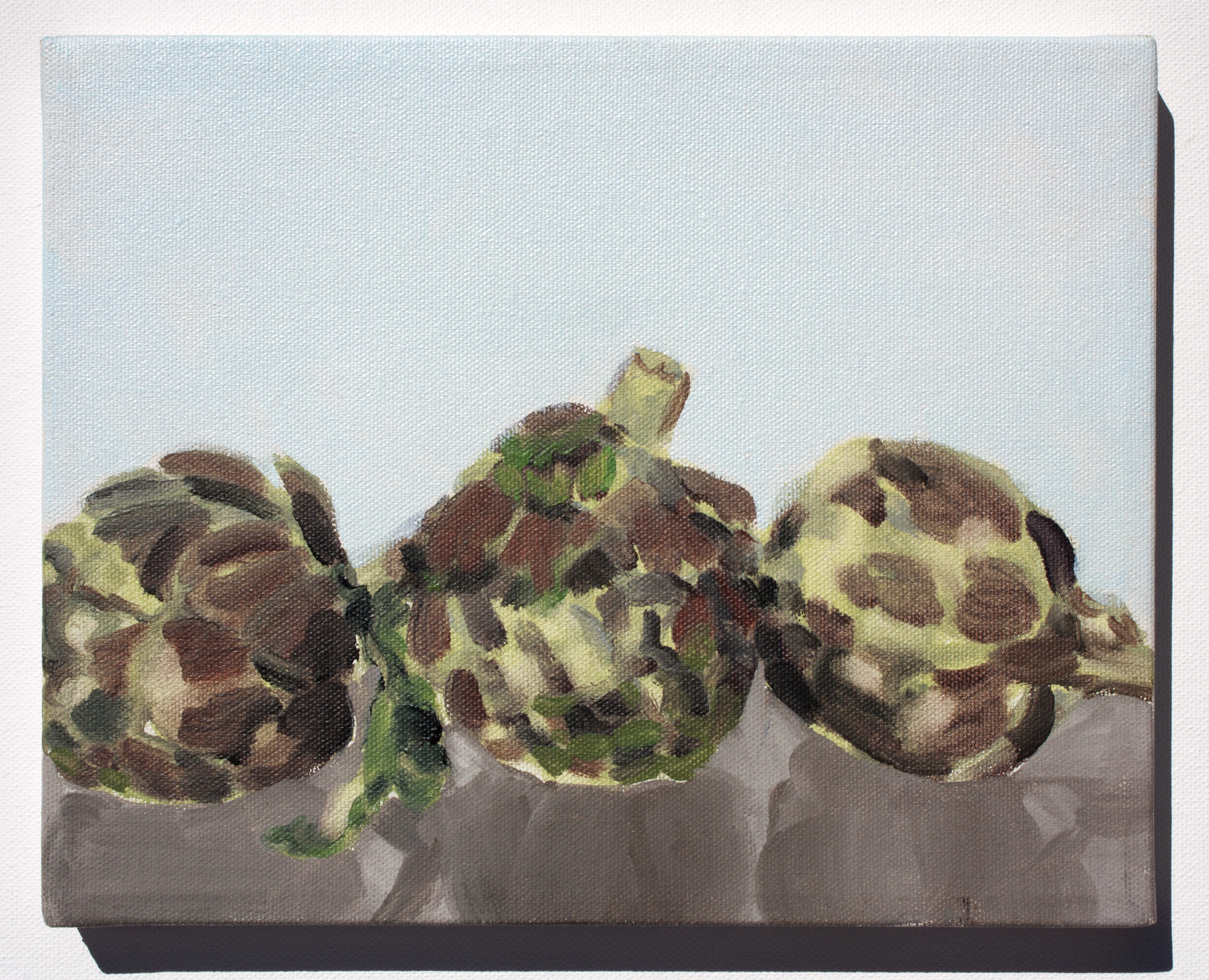"""""""Still Life with Artichokes"""" by Isabel Vexin,"""