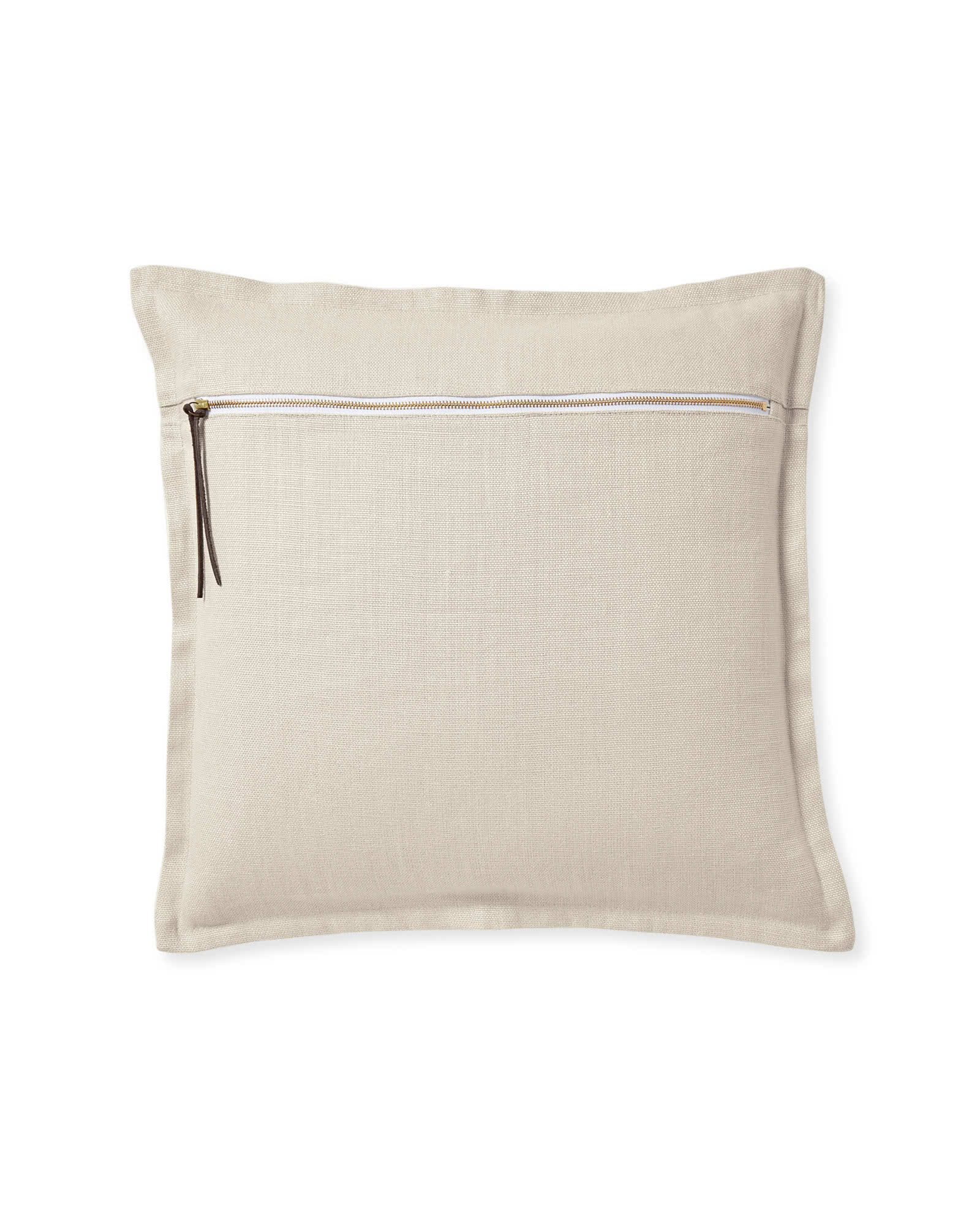 Two Tone Zip Pillow Cover