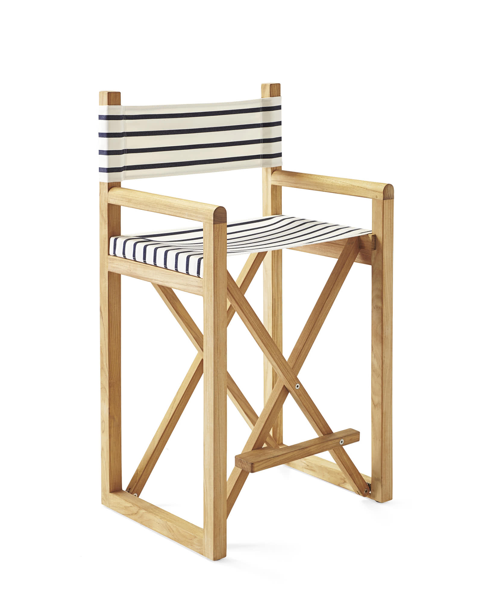 Director's Counter Stool, Classic Stripe