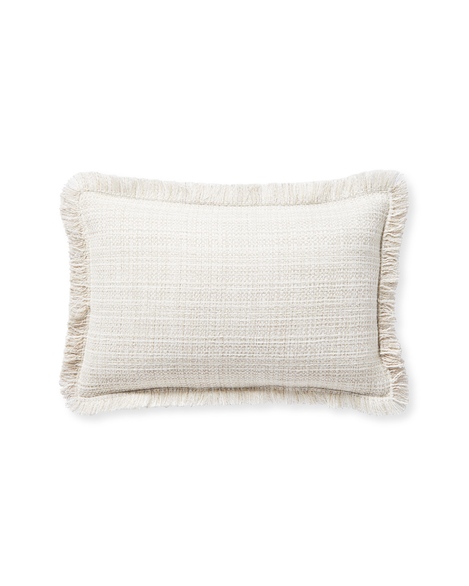 Perennials® Rosemount Pillow Cover, Chalk