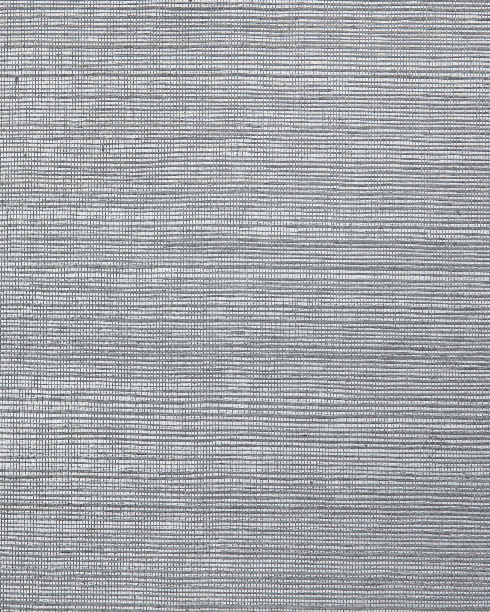 Grasscloth Wallcovering Swatch, Silver