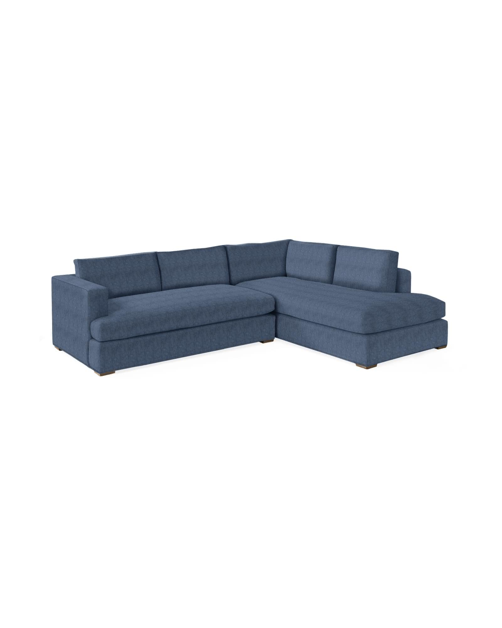 Norfolk Sectional – Right-Facing - Perennials® Vintage Blue Creekside,