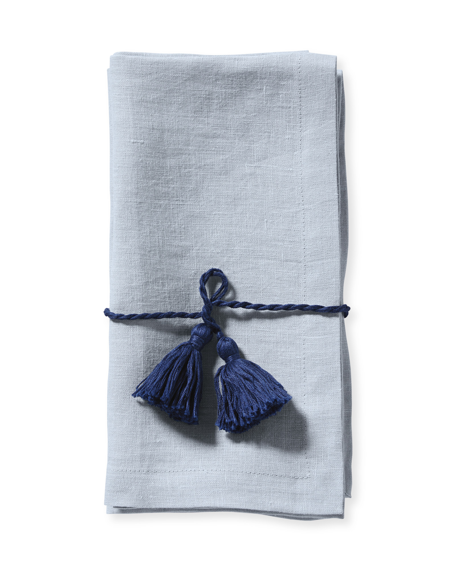Salento Linen Napkins, Coastal Blue