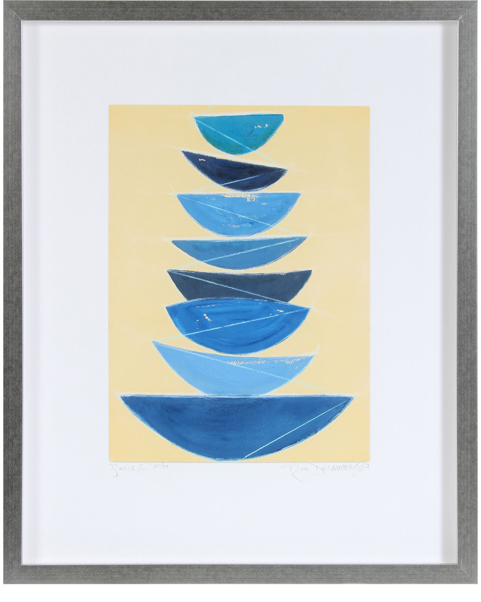"""Sails II"" by Rob Delamater,"