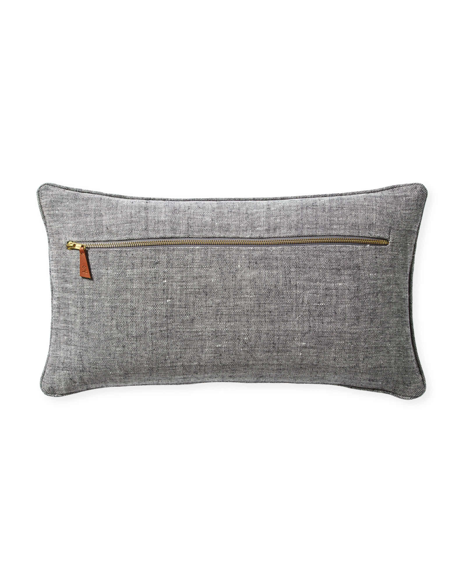 Lewes Pillow Cover, Grey
