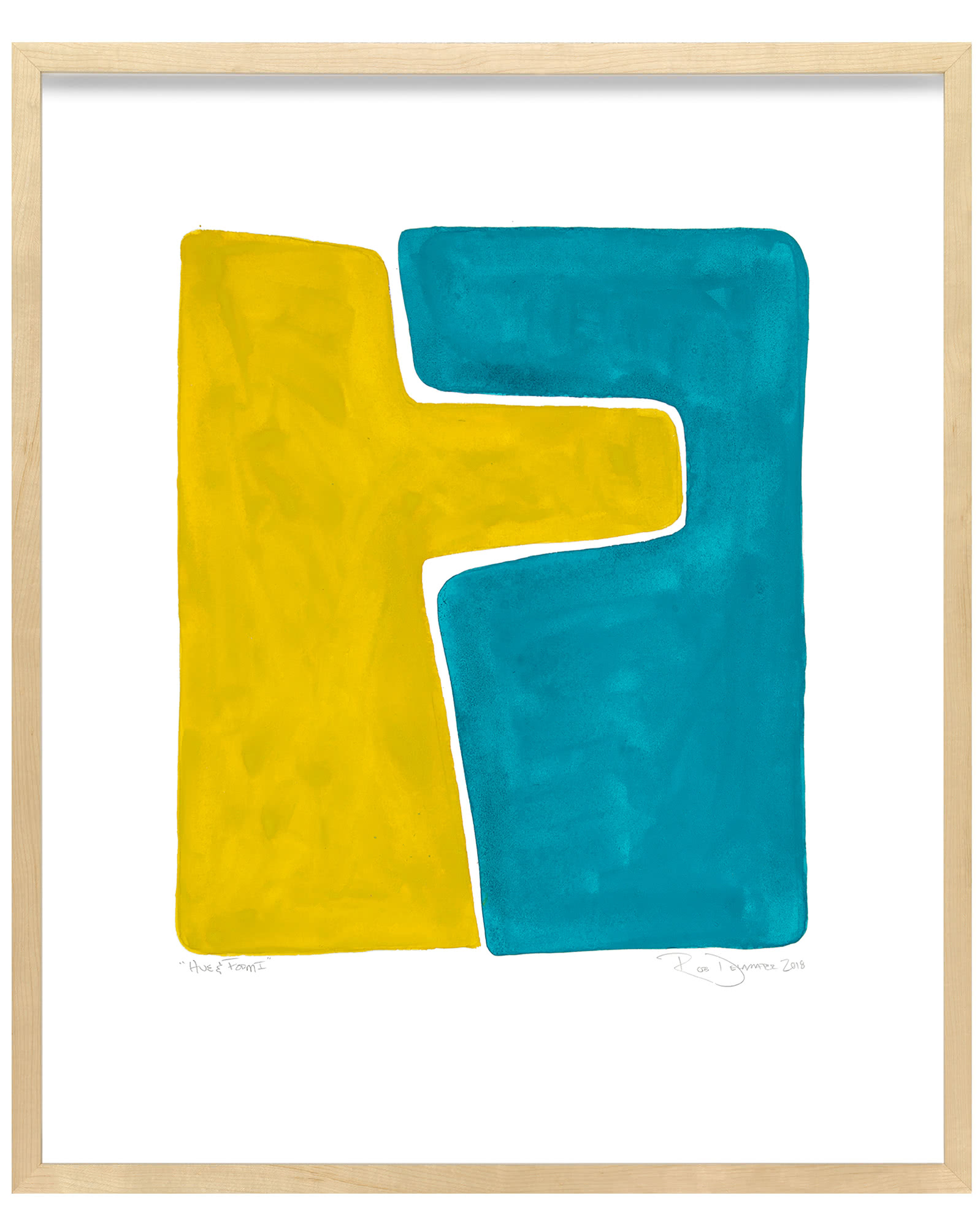 """Hue & Form I"" by Rob Delamater,"