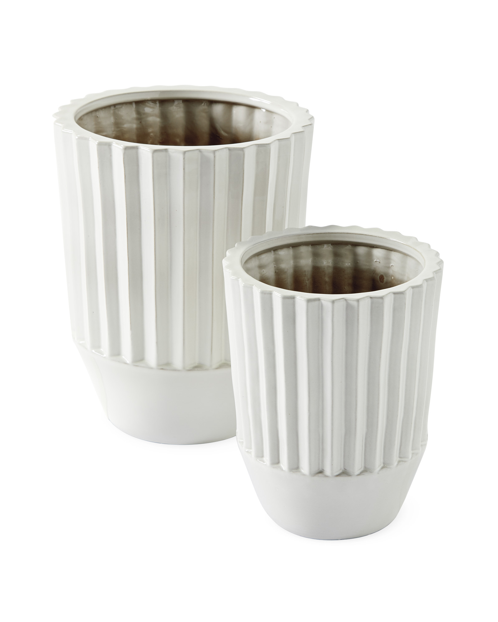 Fluted Planter,