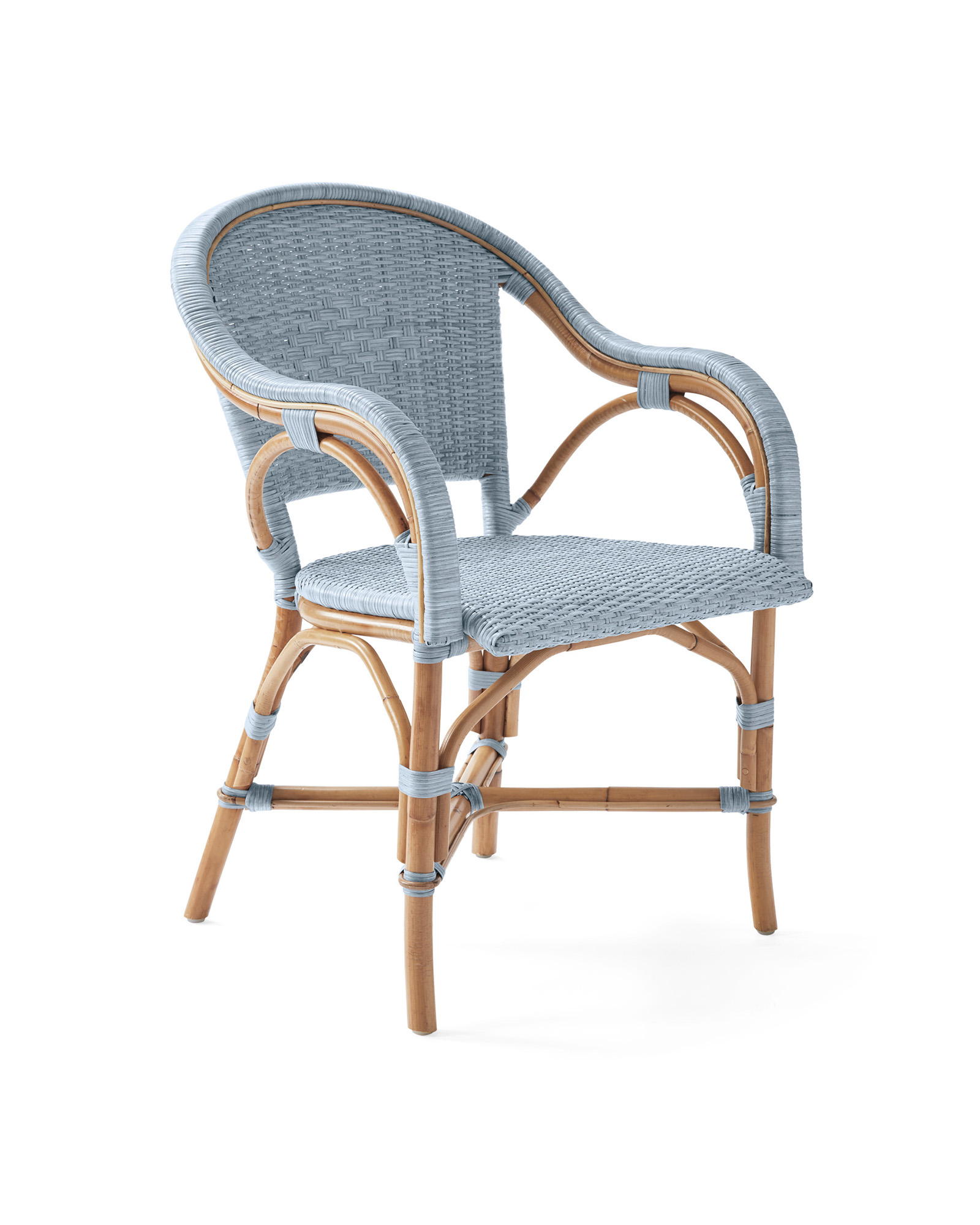 Sunwashed Riviera Dining Chair, Coastal Blue