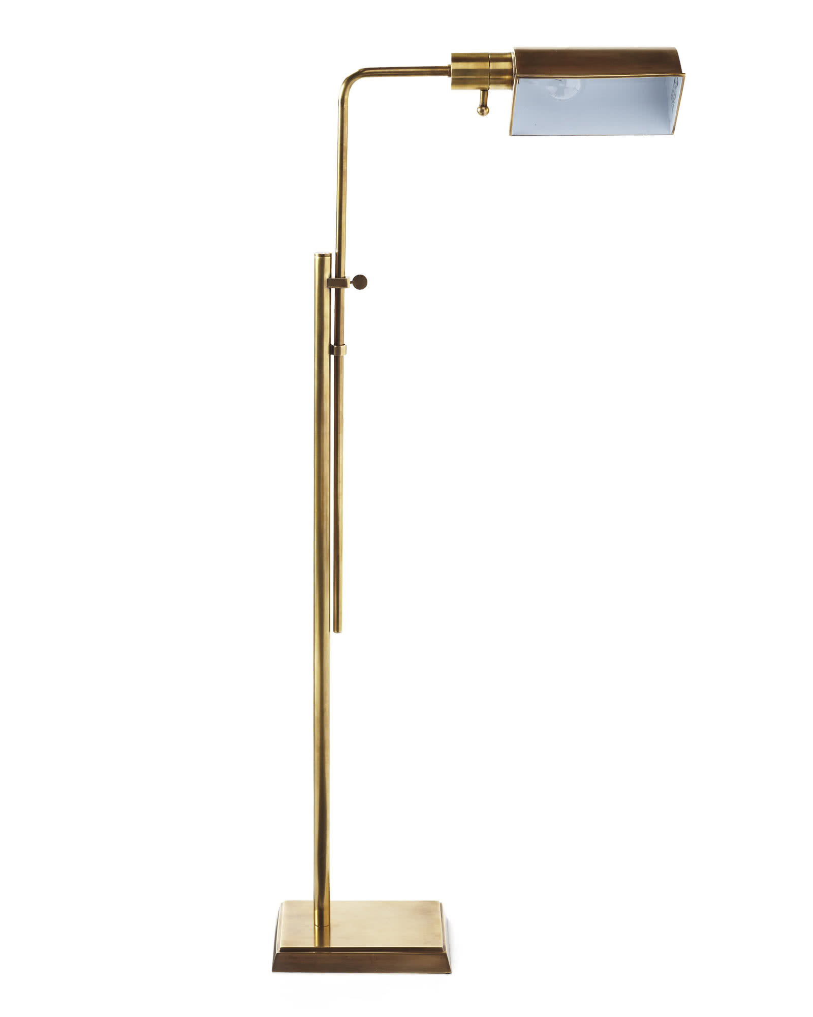 Stewart floor lamp serena lily for Cole brass floor lamp serena and lily