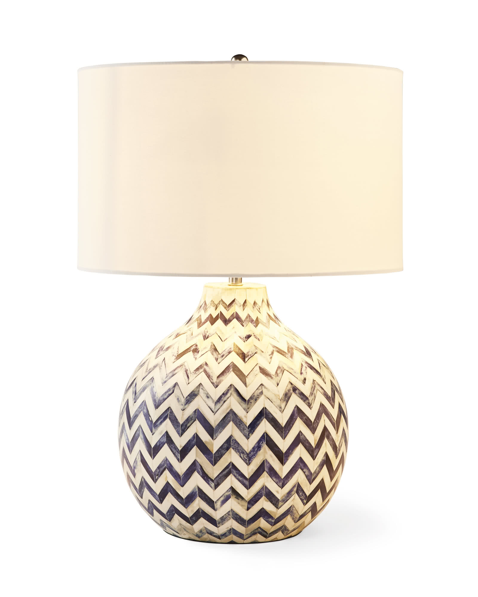 Inlaid Bone Table Lamp