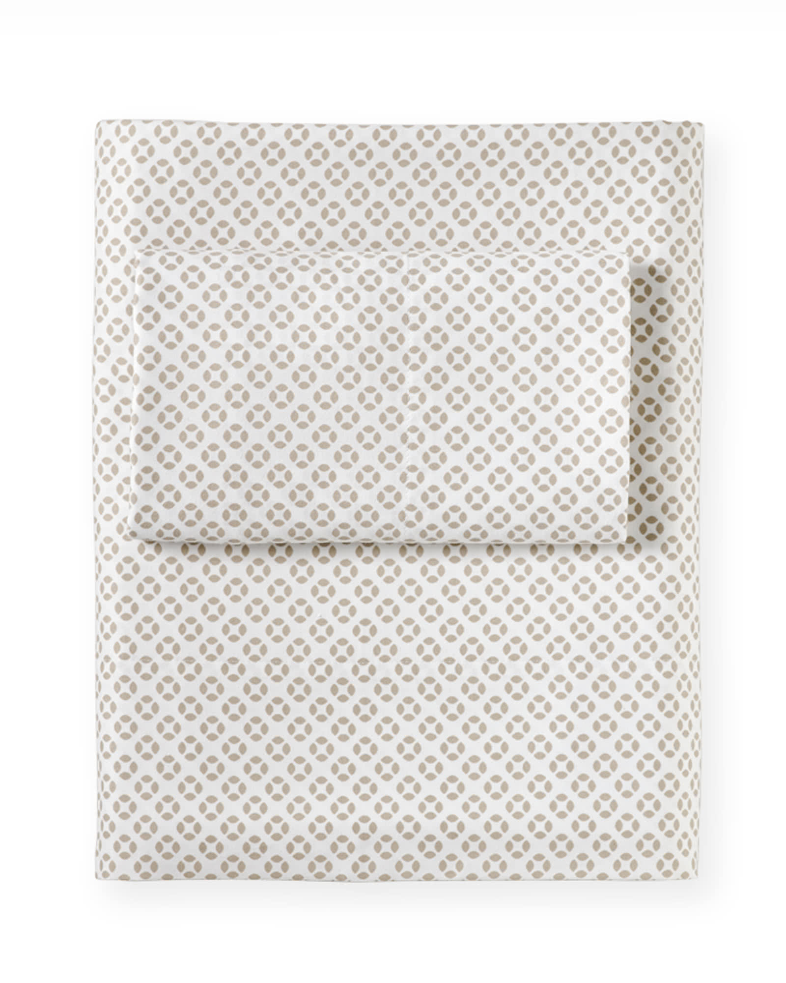 Cut Circle Sheet Set, Bark