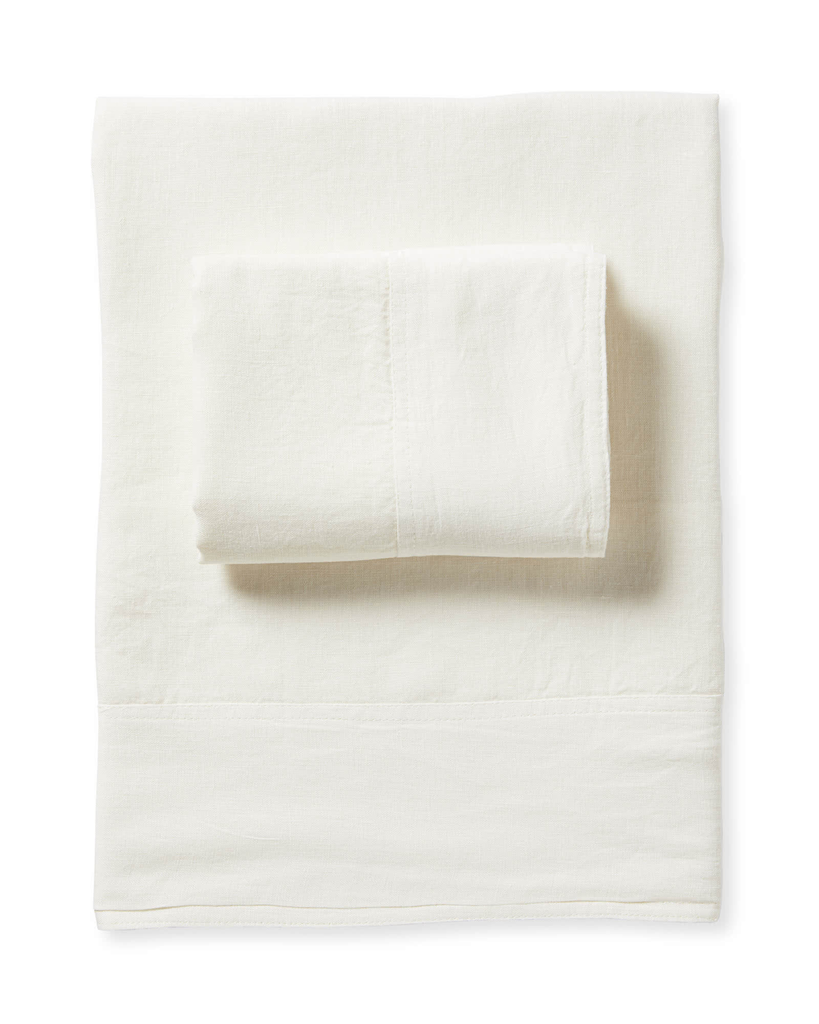 Positano Linen Sheet Set, Ivory