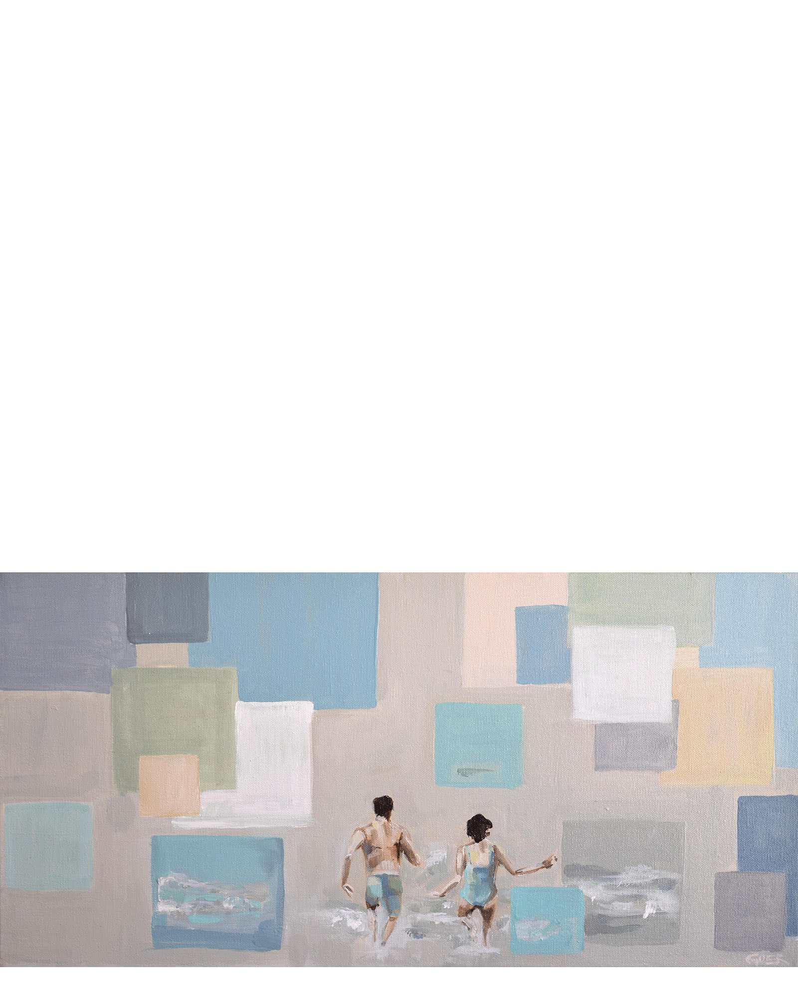 """""""Sea Square"""" by Chelsea Goer,"""