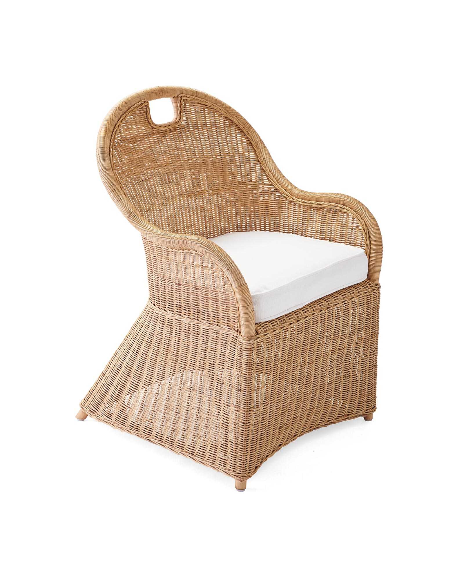 Shore Dining Chair with Cushion,
