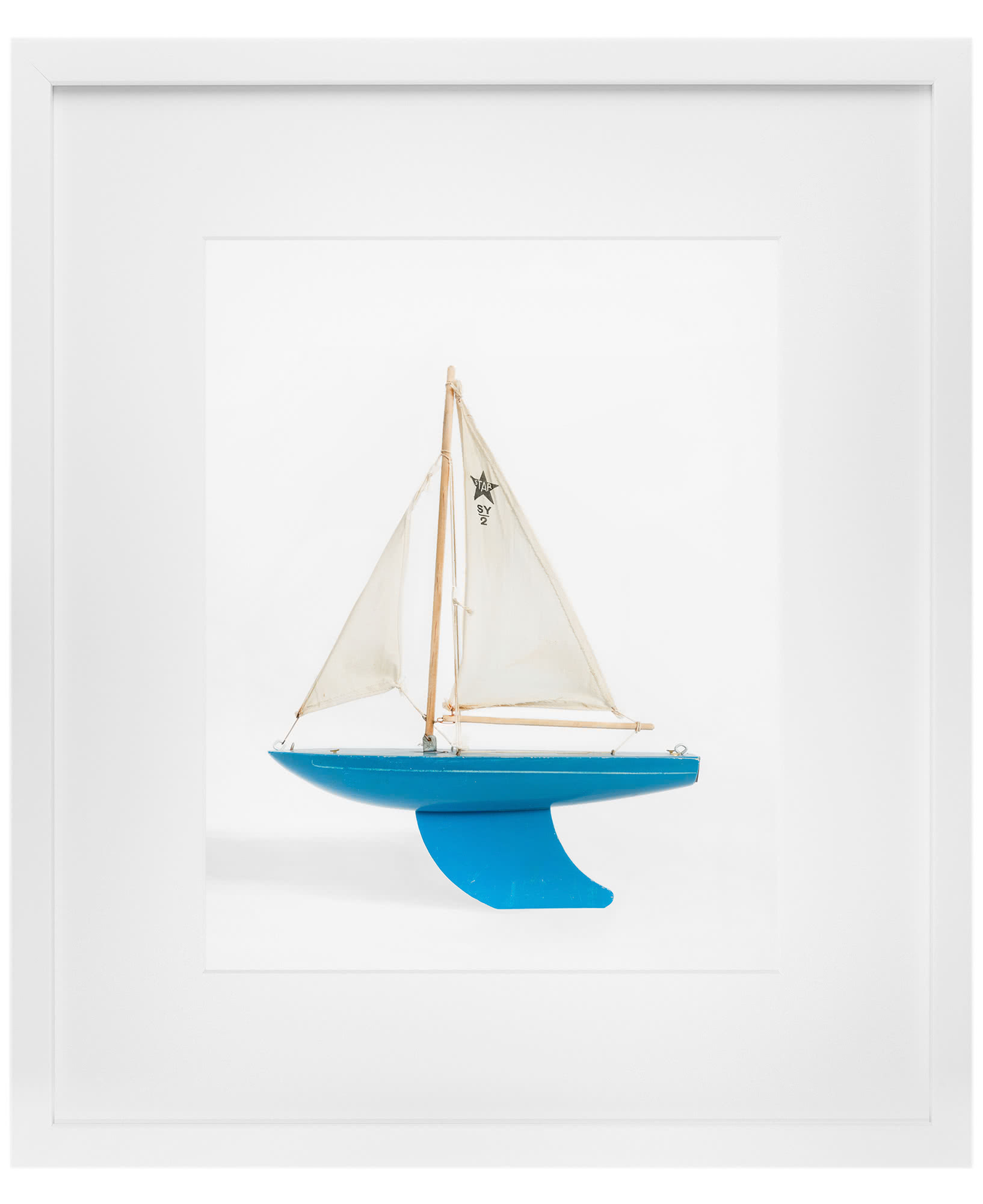 """Blue Boat"" by Leslee Mitchell,"