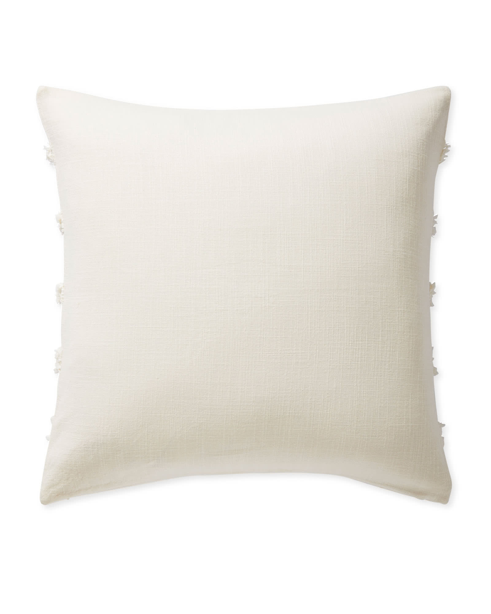 Cuesta Pillow Cover, Ivory