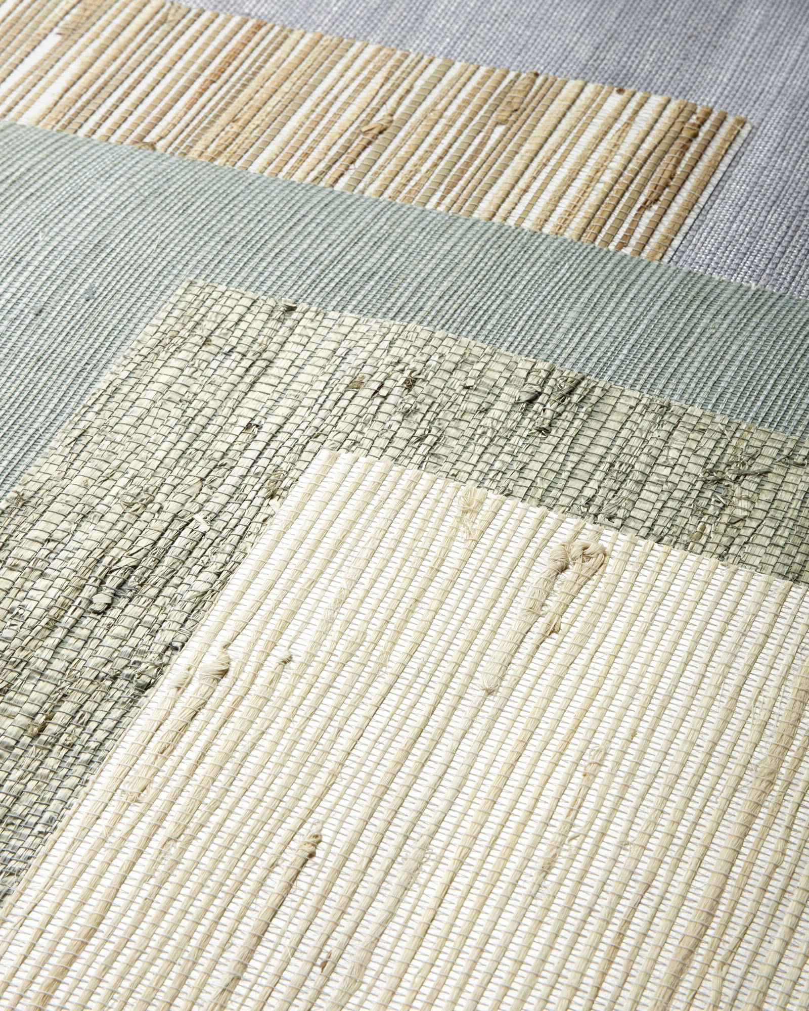 Grasscloth Wallcovering Swatch,