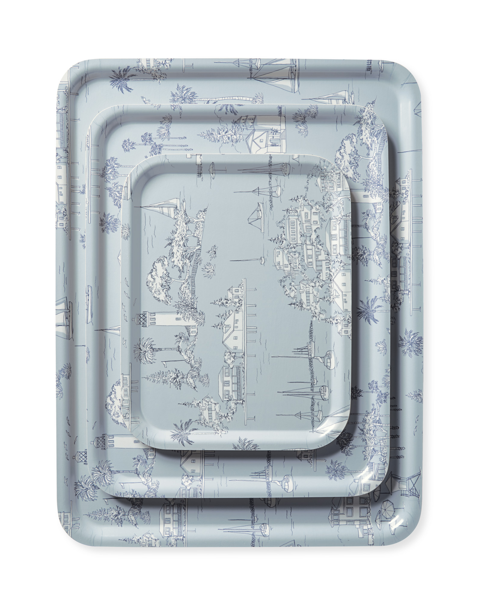 Westwind toile tray - Serena & Lily
