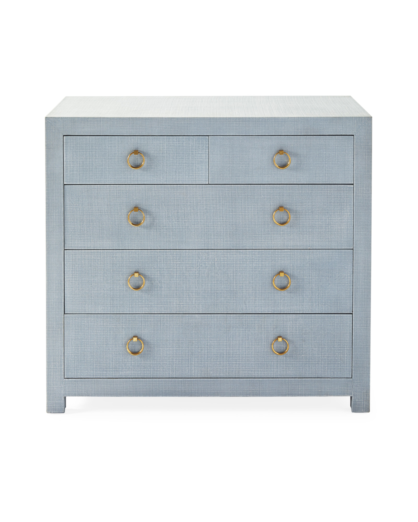 Driftway Tall Dresser, Coastal Blue