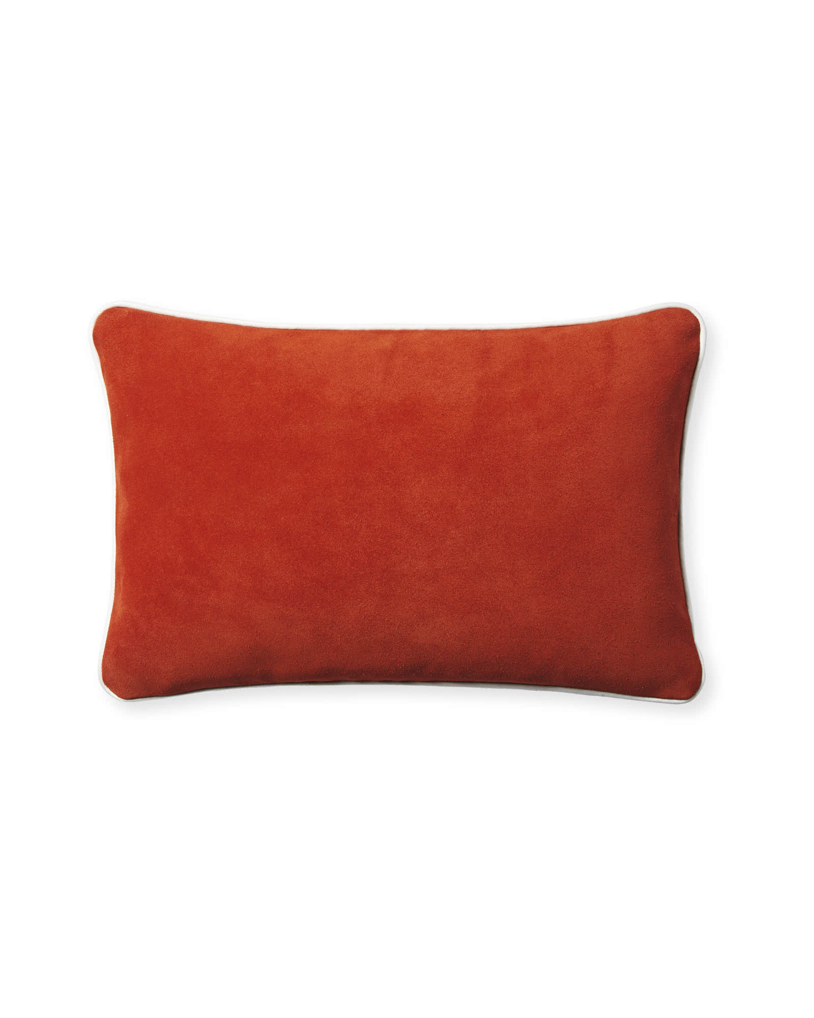 Suede Pillow Cover, Flame