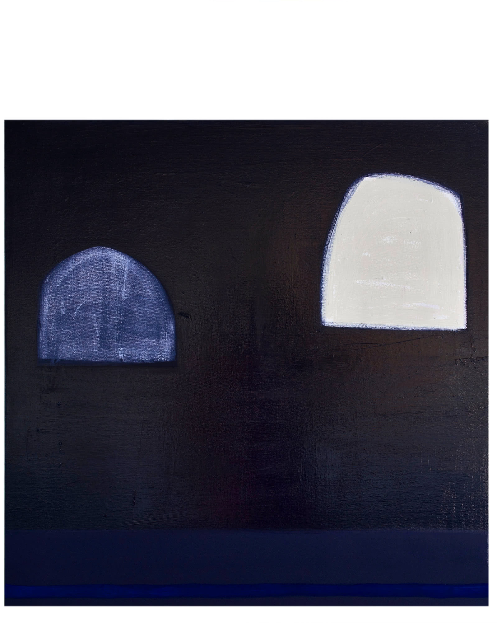 """Midnight Blue and Cobalt Study"" by Laurie Fisher,"