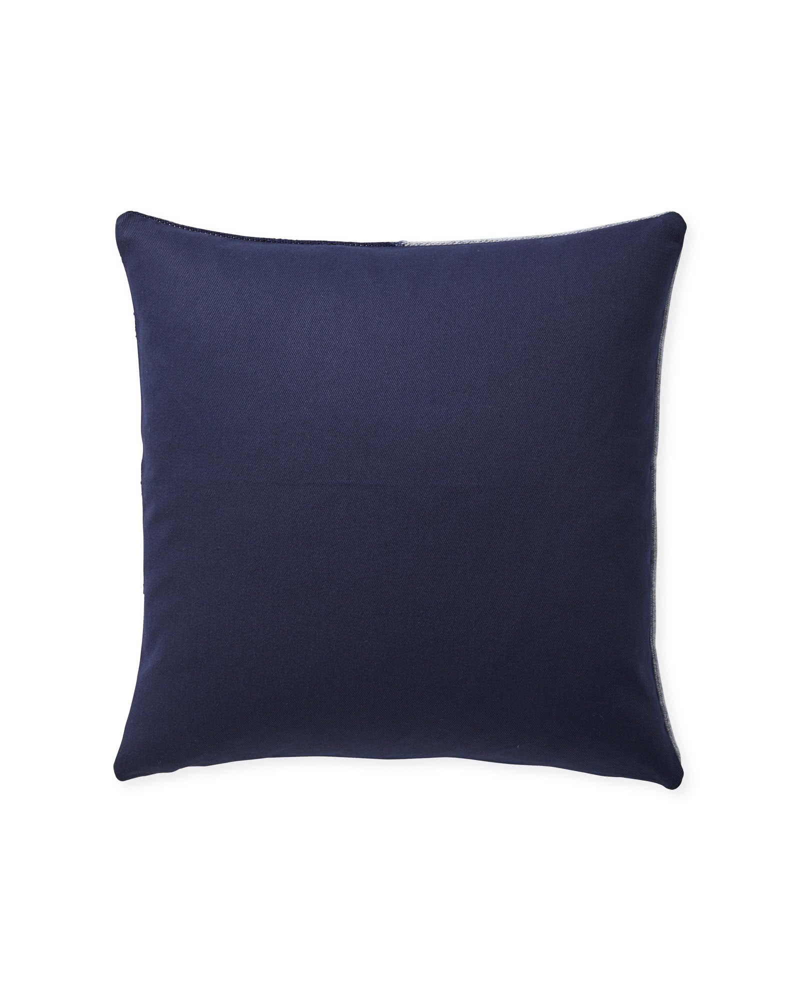Francis Pillow Cover, Navy