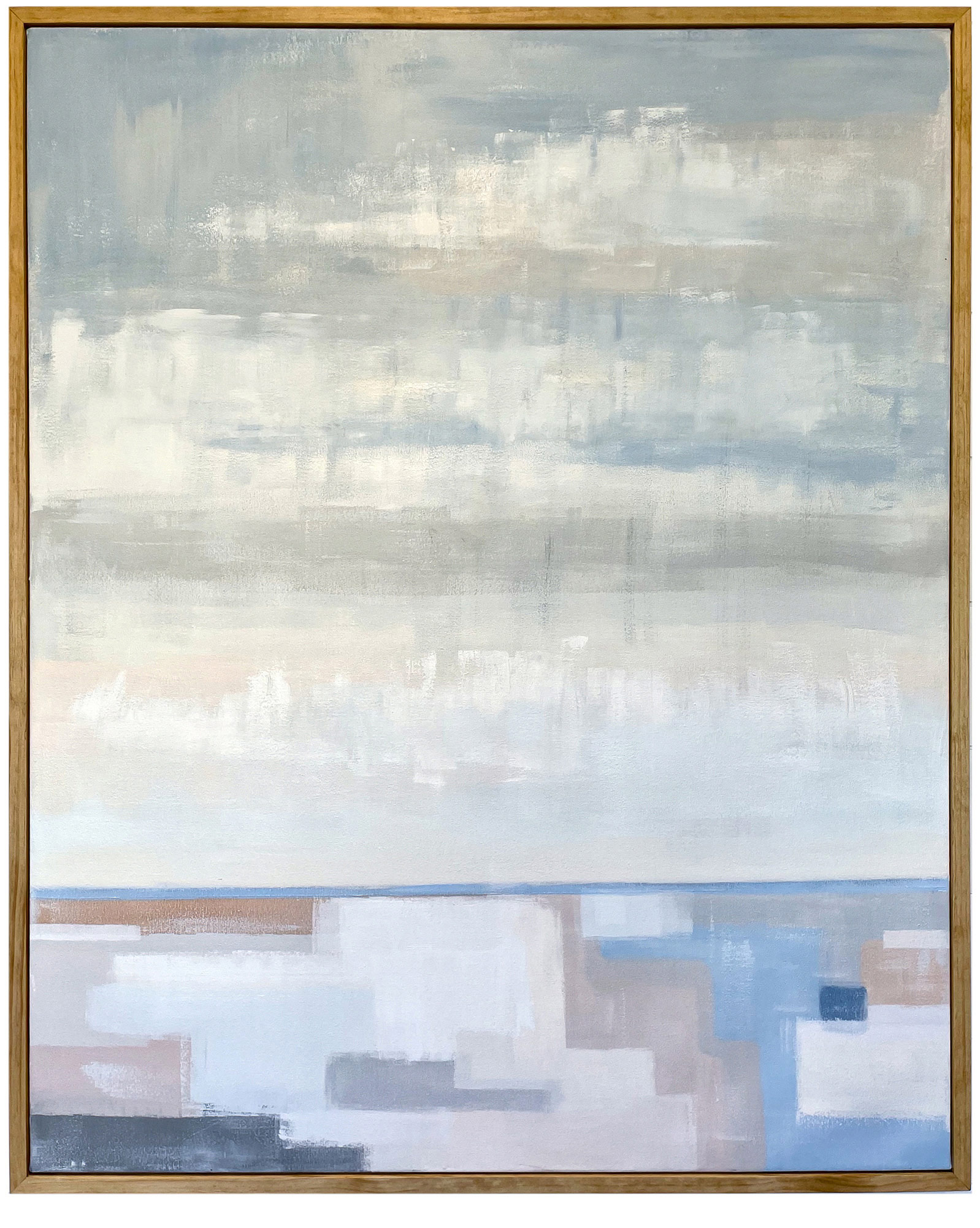 """""""Blue Line"""" by Theresa Losa,"""