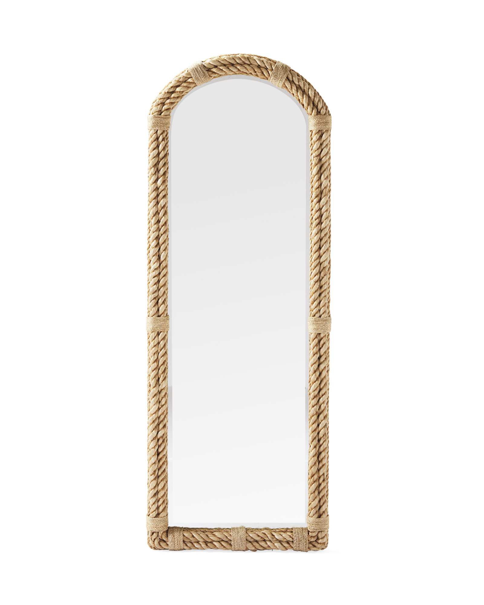 Nautical Rope Floor Mirror,
