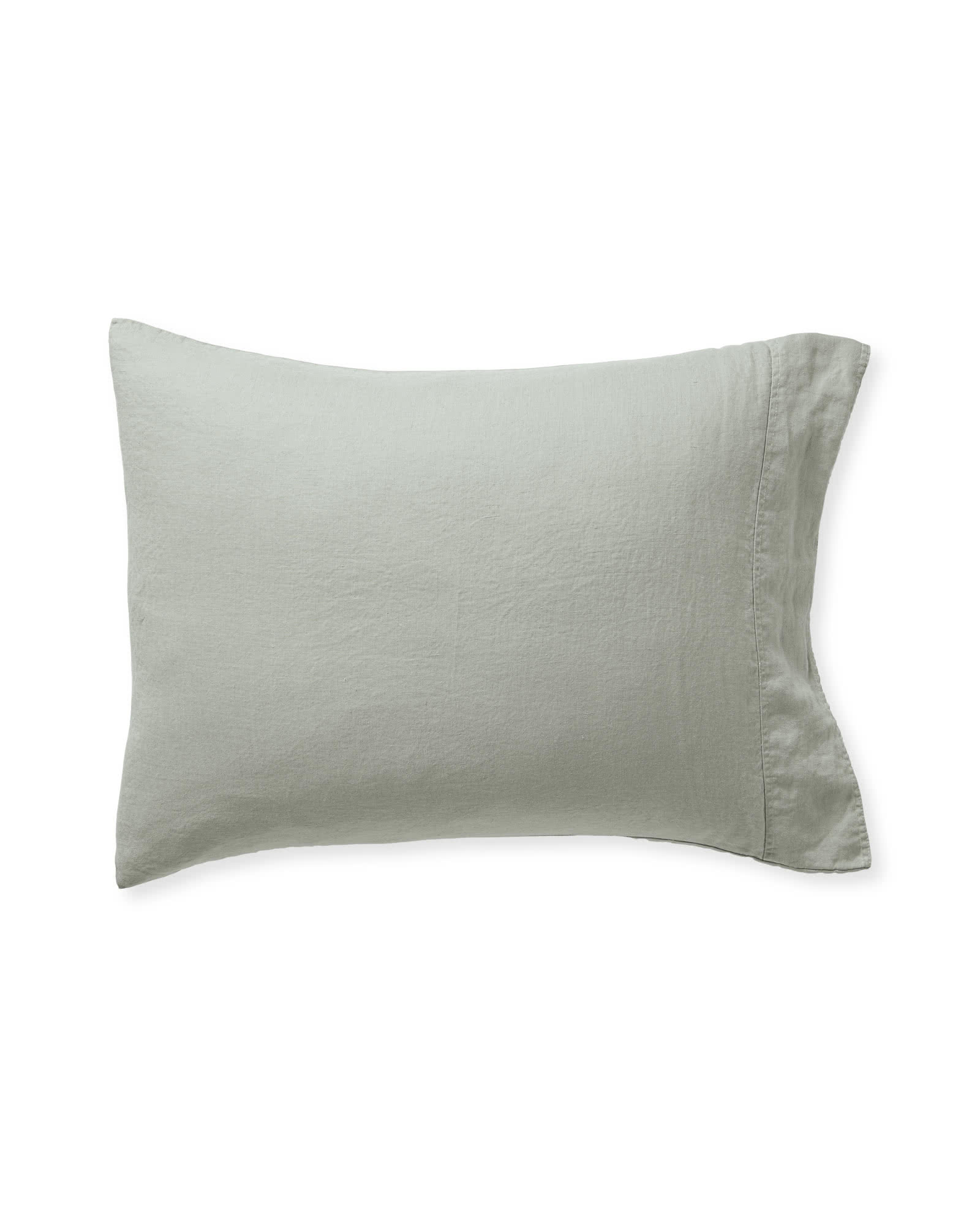 Positano Linen Pillowcases (Extra Set of 2), Eucalyptus