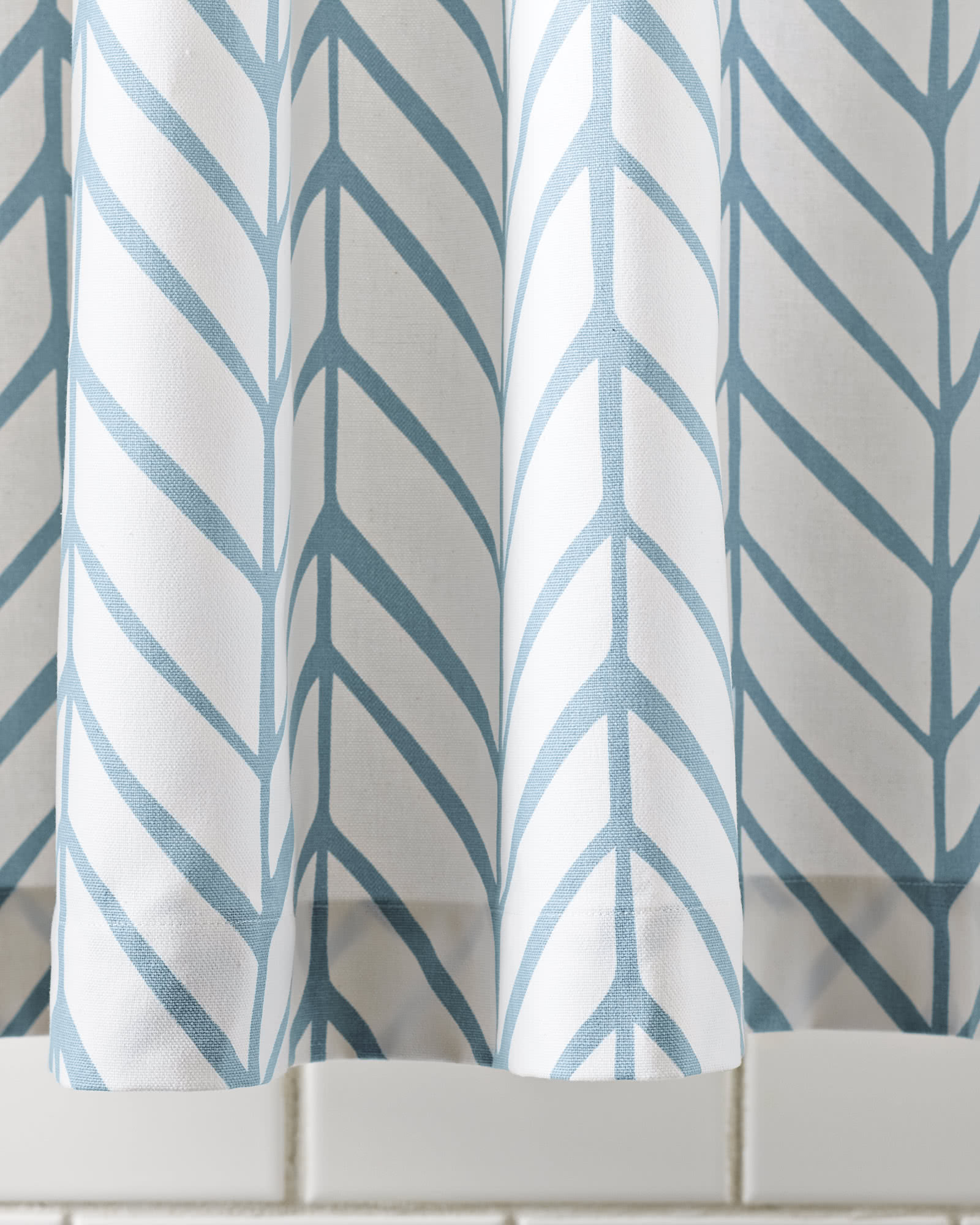 Super Feather Shower Curtain - Serena & Lily SW48