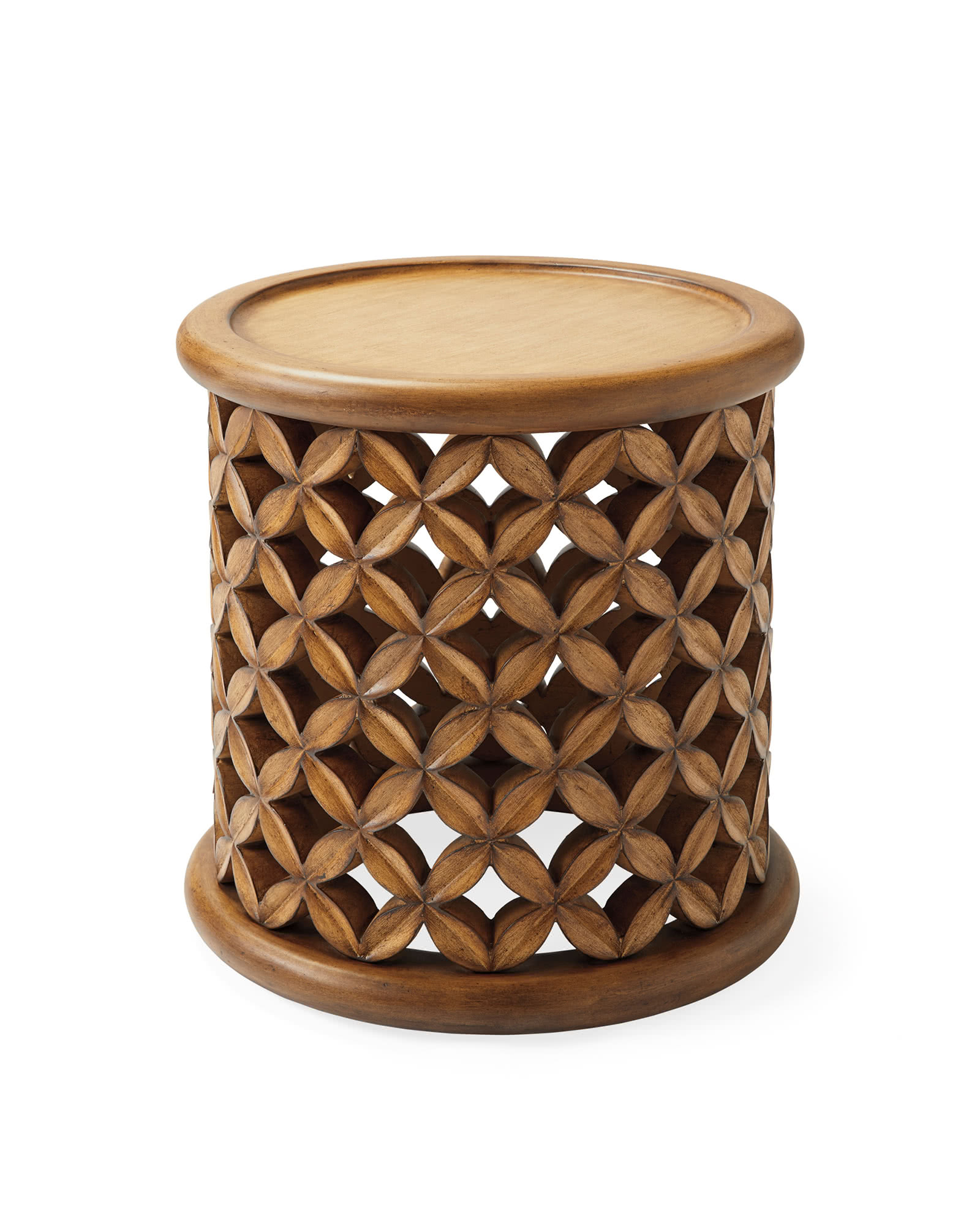 Bamileke Outdoor Side Table,