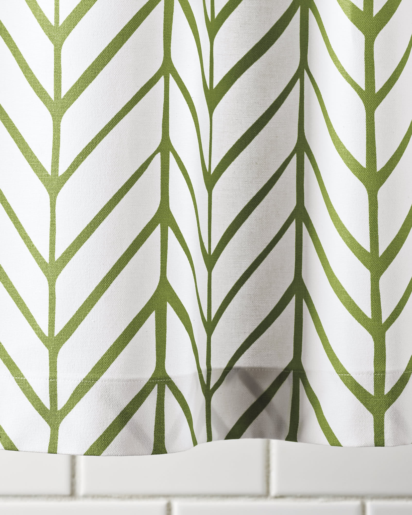 Feather Shower Curtain,