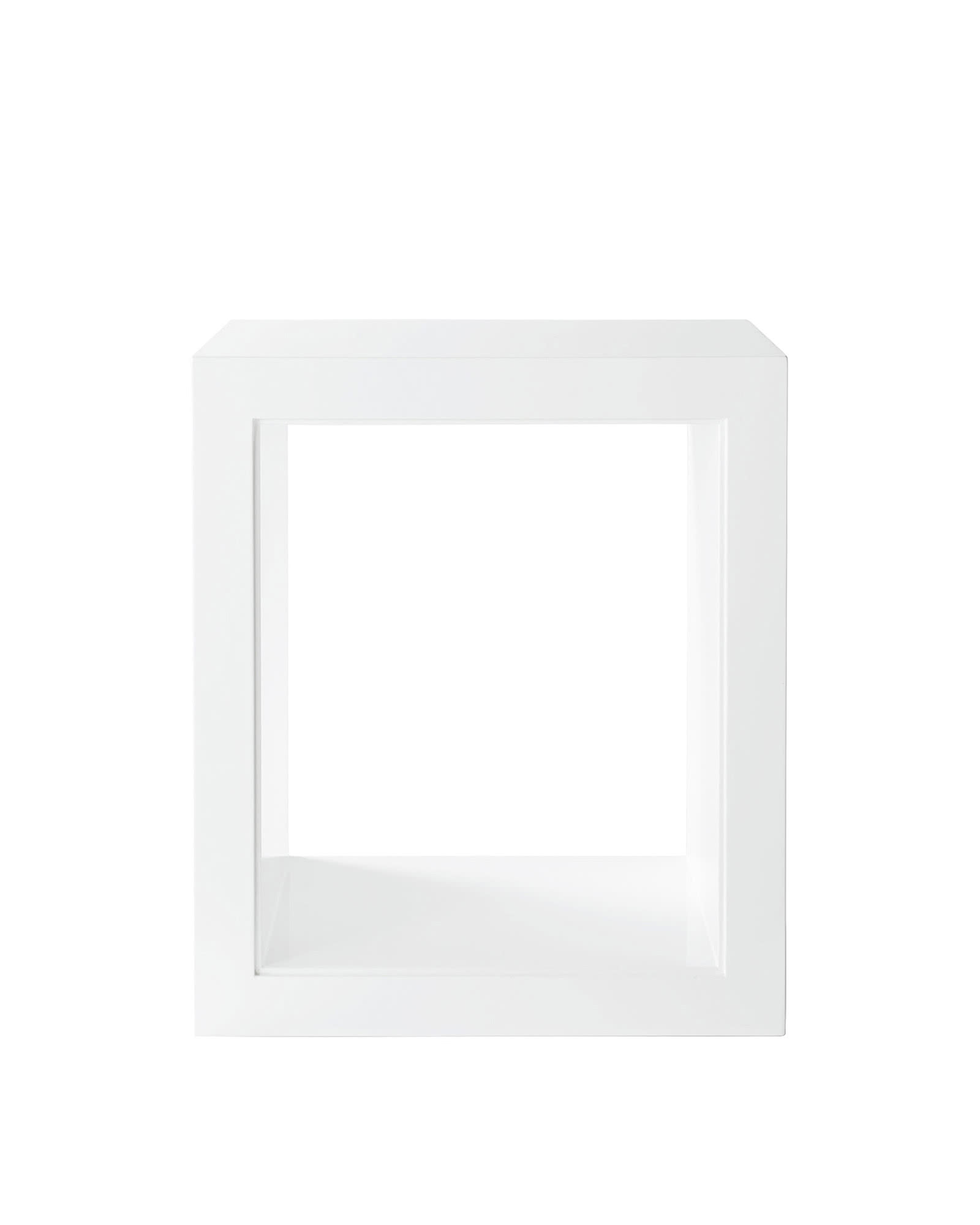 Atelier Side Table, White