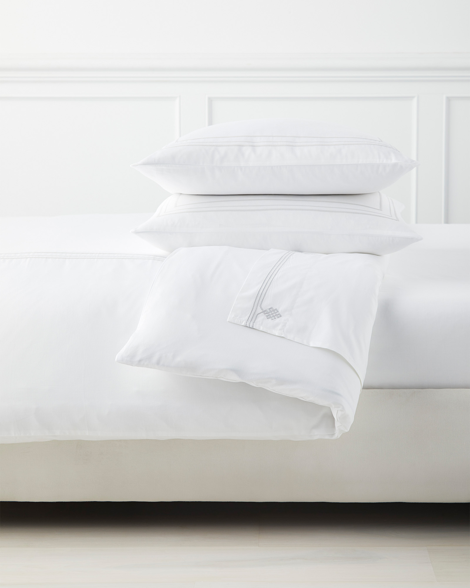 Soho Bedding Set, Fog