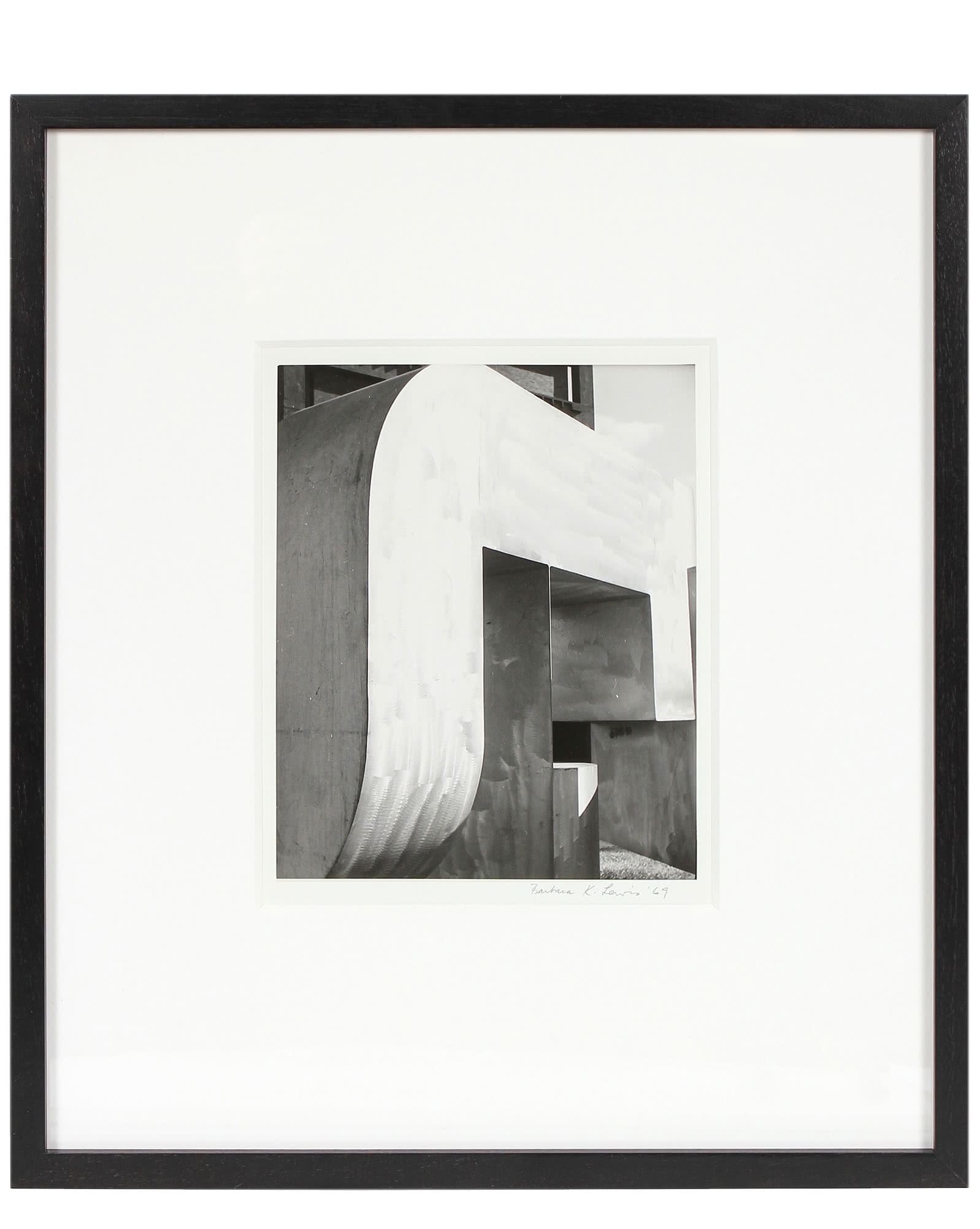 """""""Modernist Building Abstracted"""" by Barbara Lewis,"""