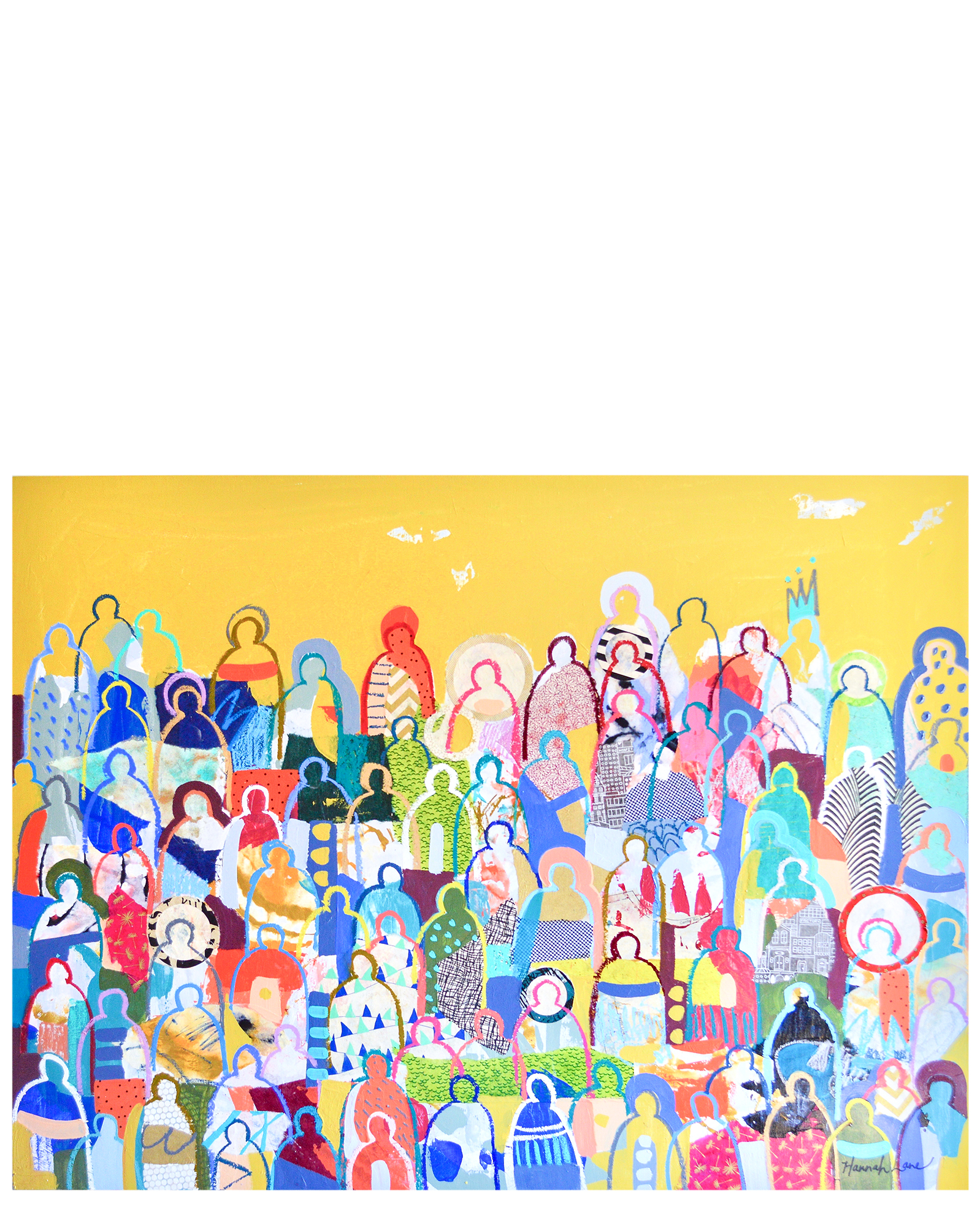 Peace, Love & Crowds by Hannah Lane,