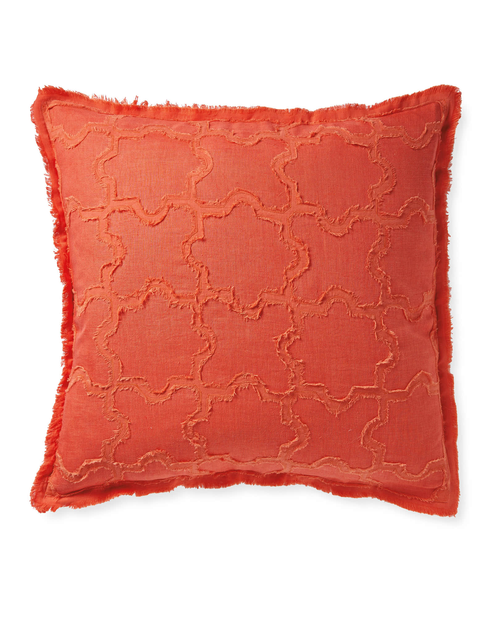Barcelona Pillow Cover, Coral