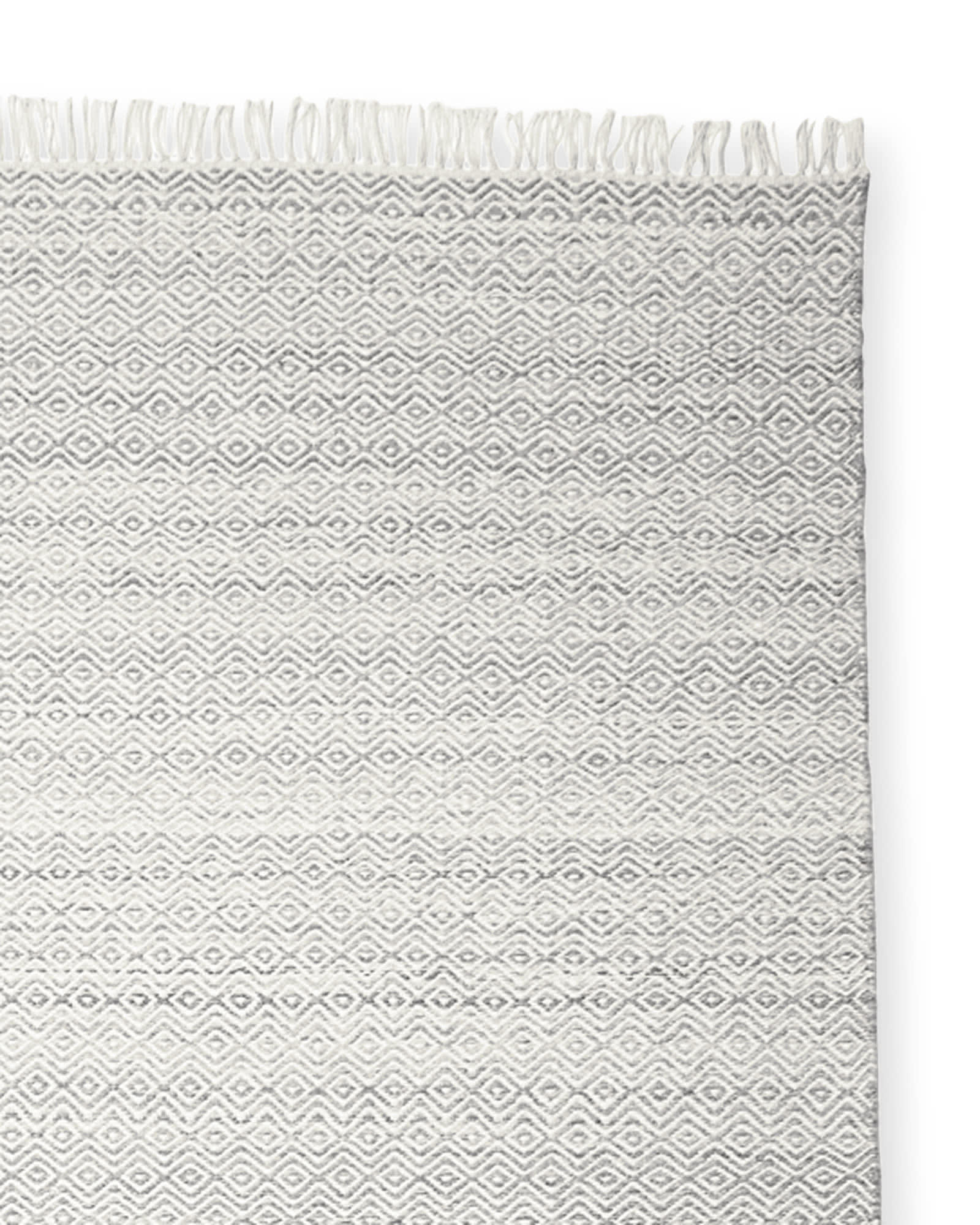 Seaview Rug Swatch, Grey