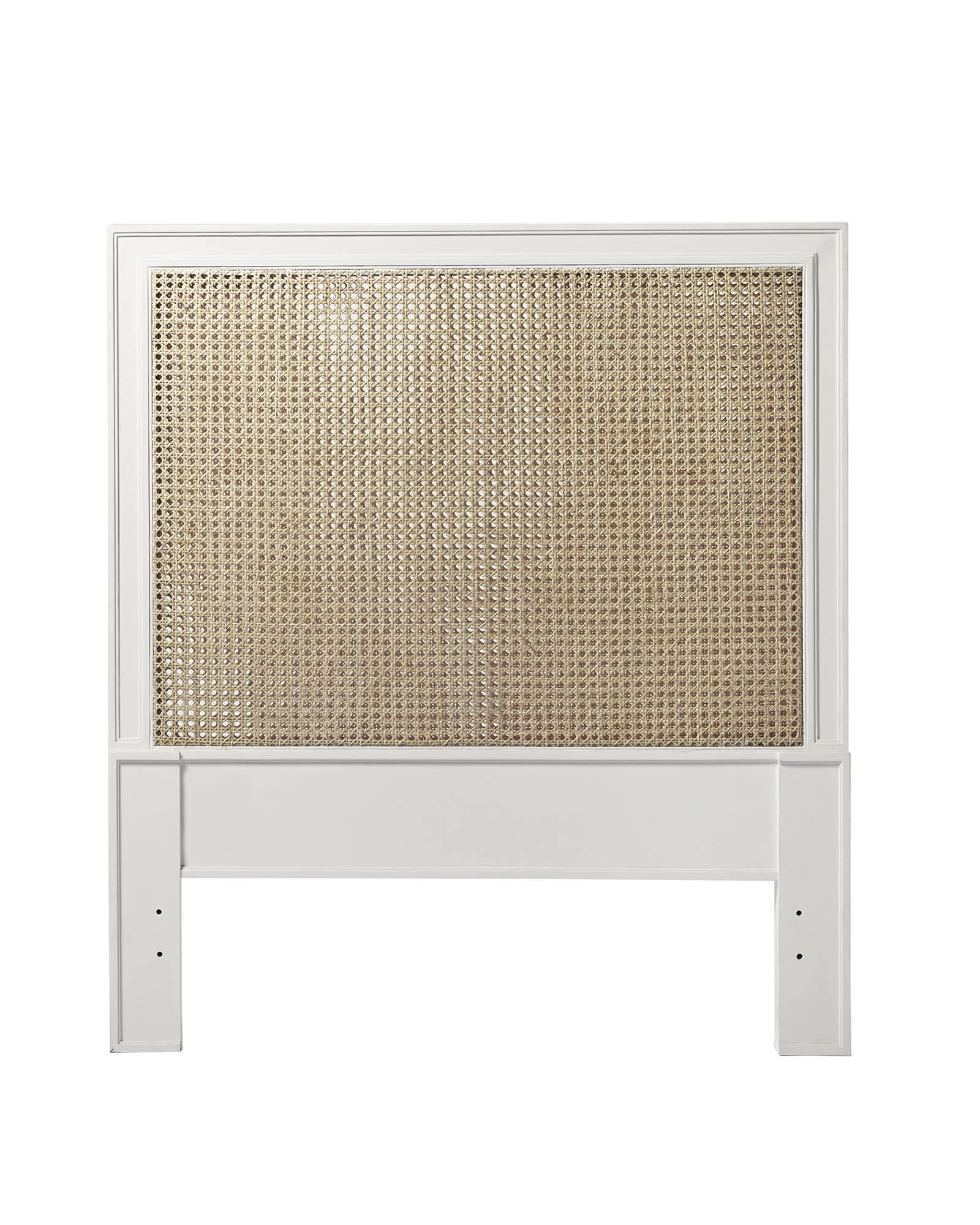 Harbour Cane Headboard, White