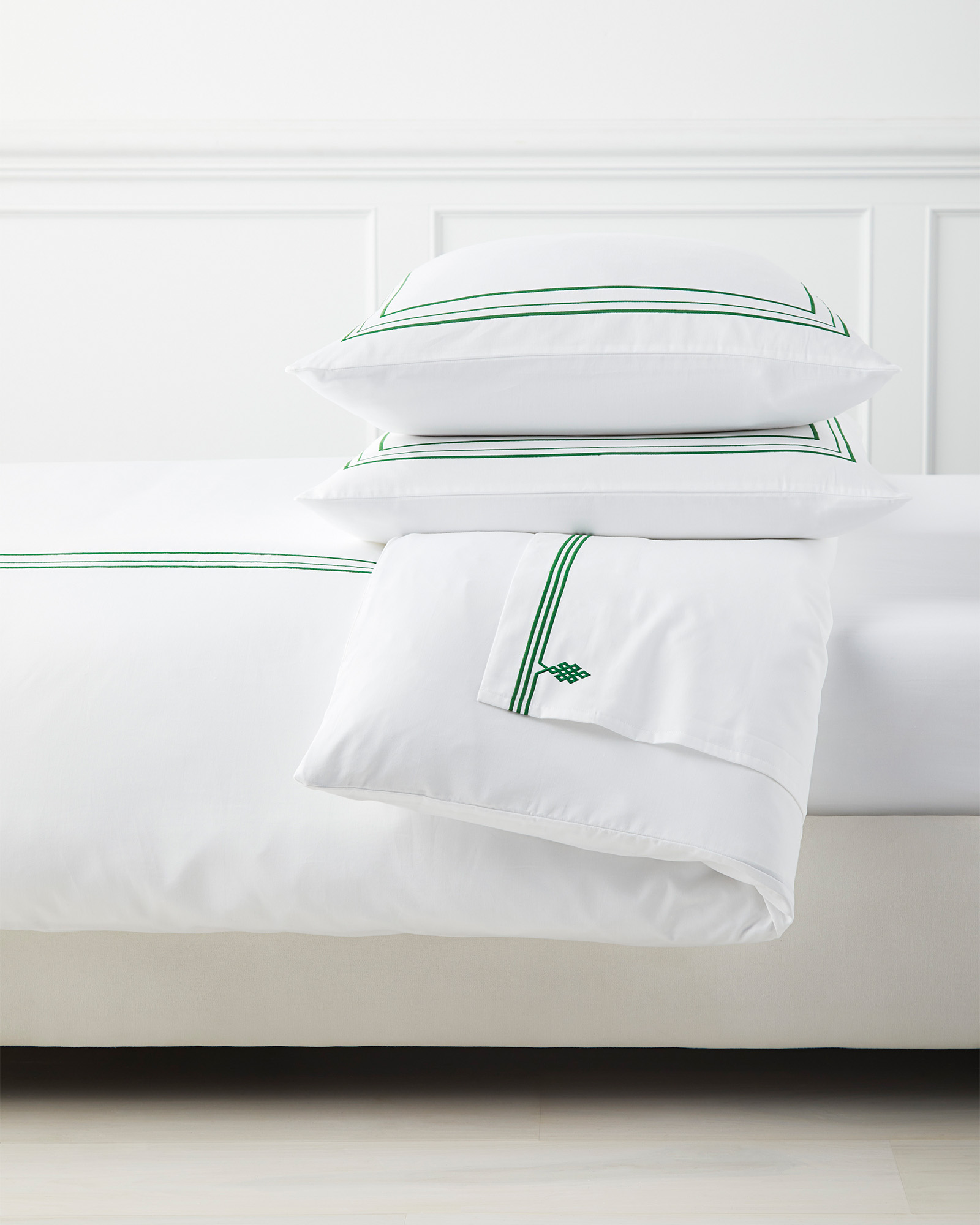Soho Bedding Set, Moss
