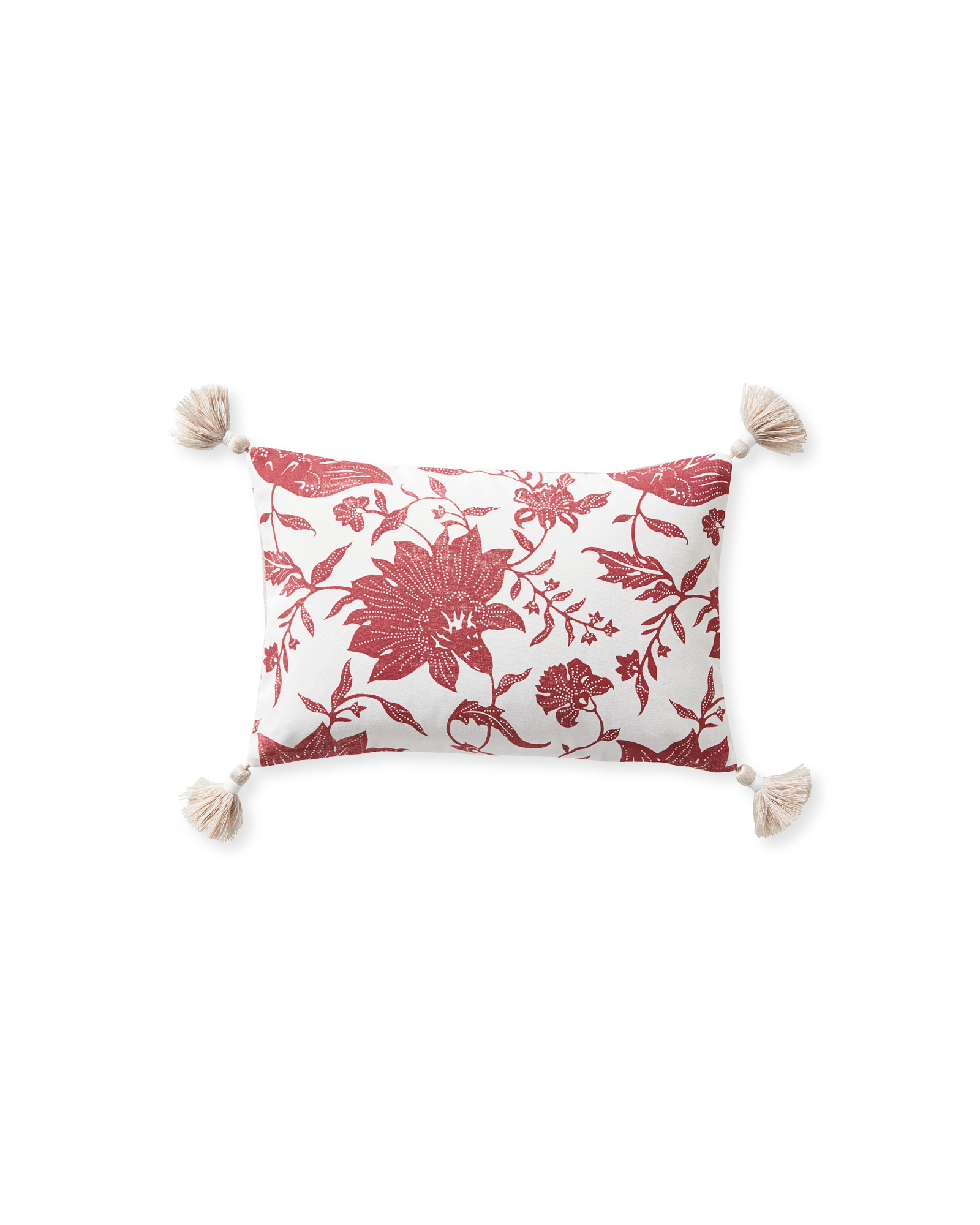 Deauville Pillow Cover, Poppy