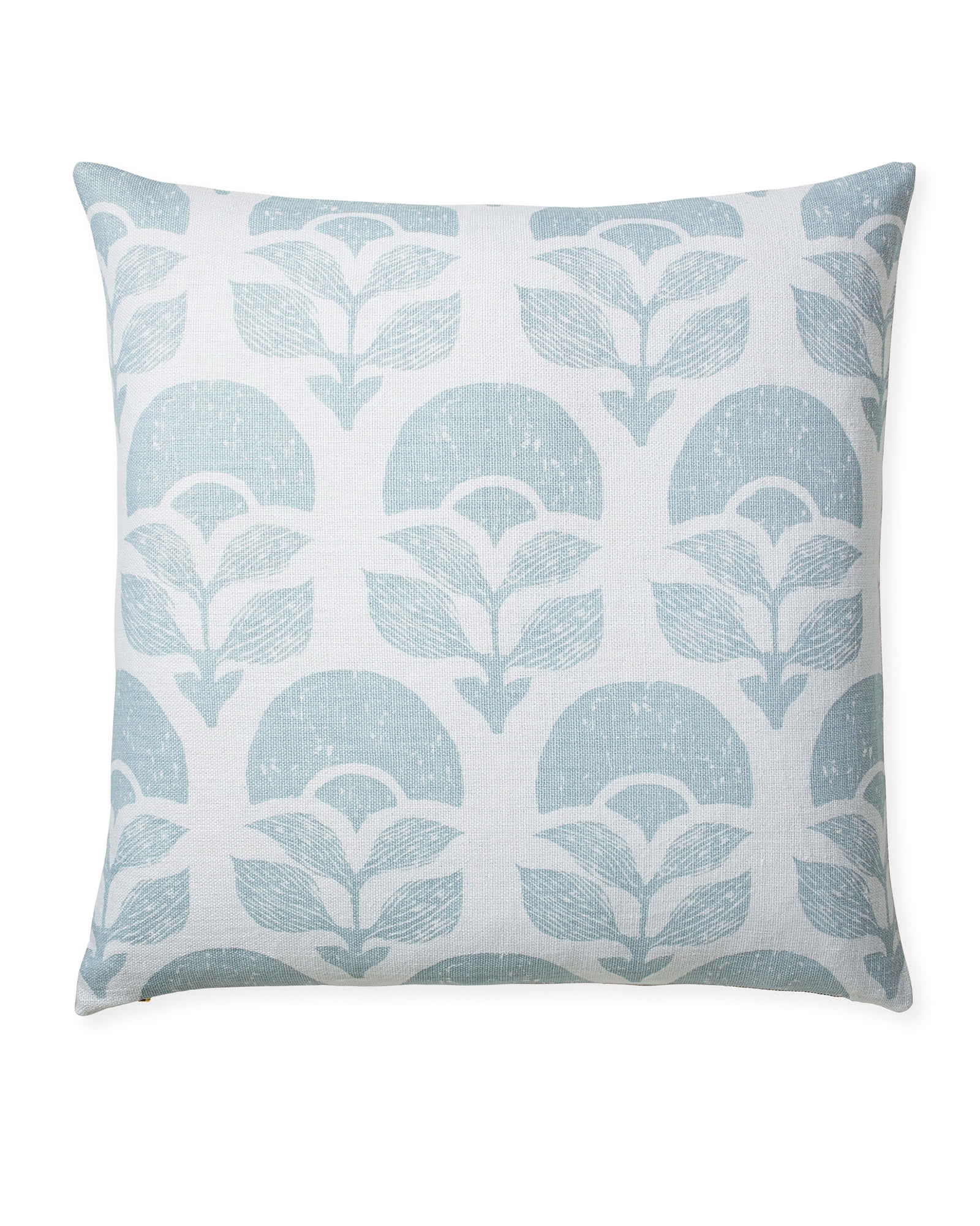 Larkspur Printed Pillow Cover, Sky