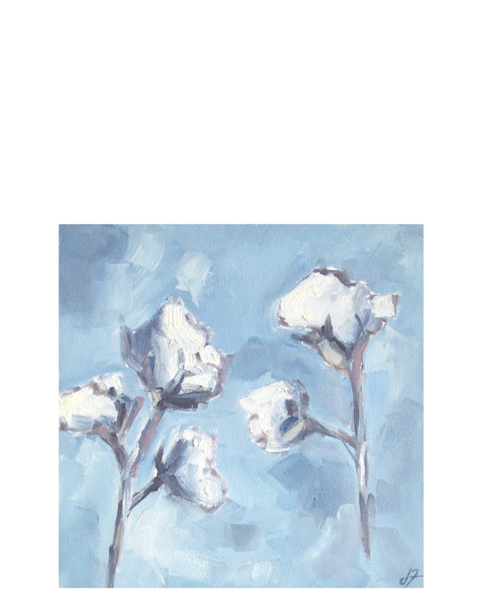 """""""Cotton Bloom"""" by Jeremy Fowler,"""