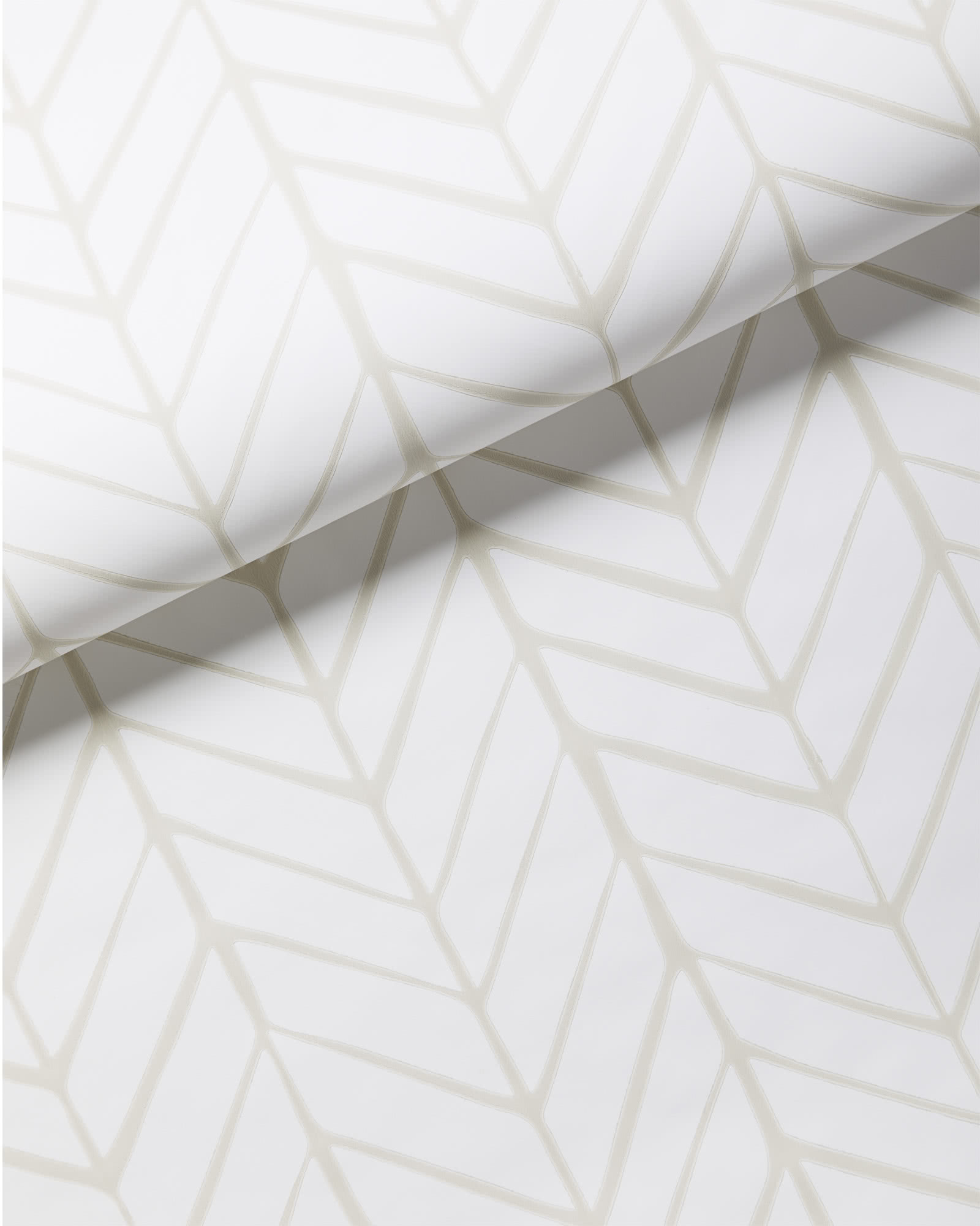 Feather Wallpaper, Bone