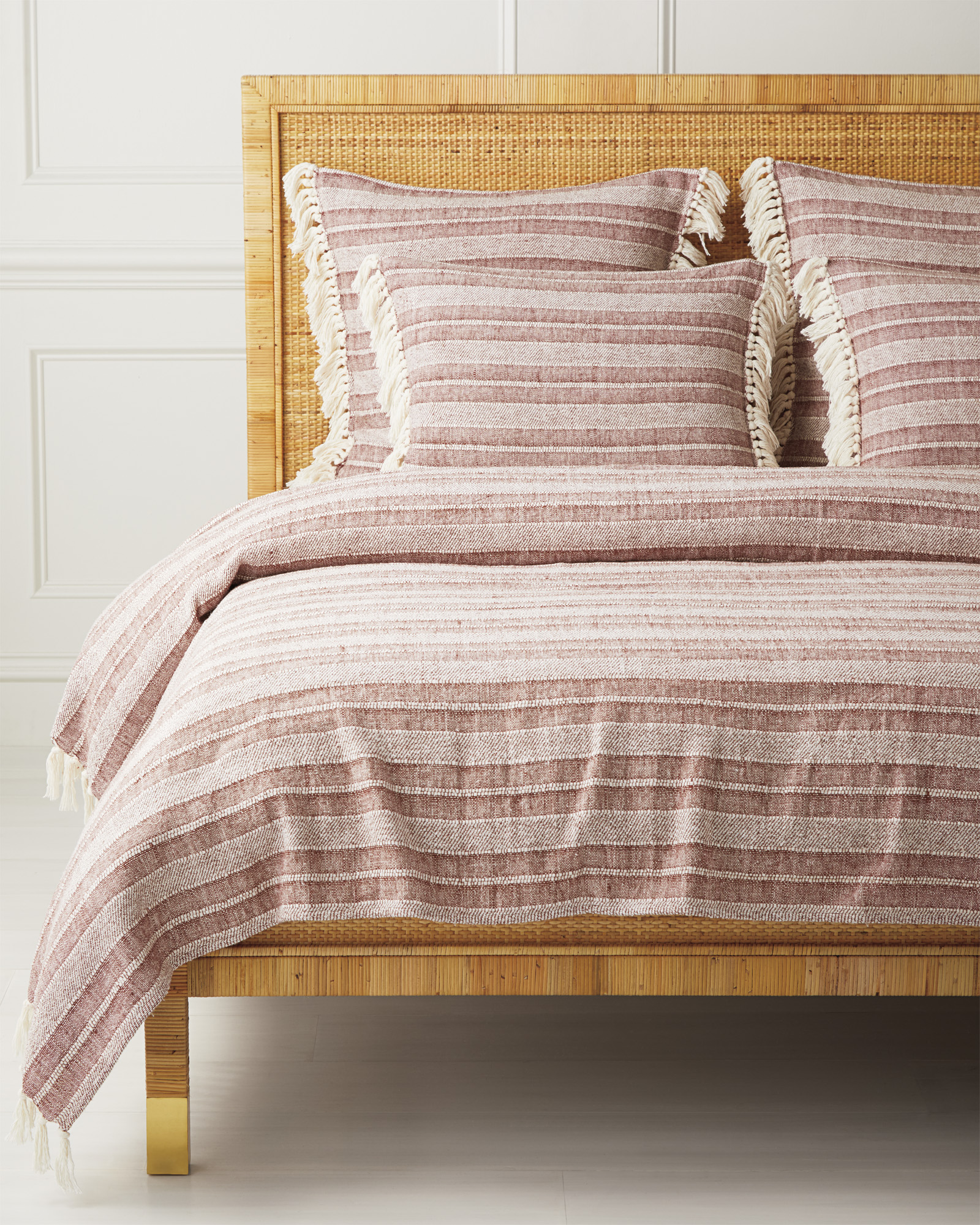Northside Coverlet, Terracotta