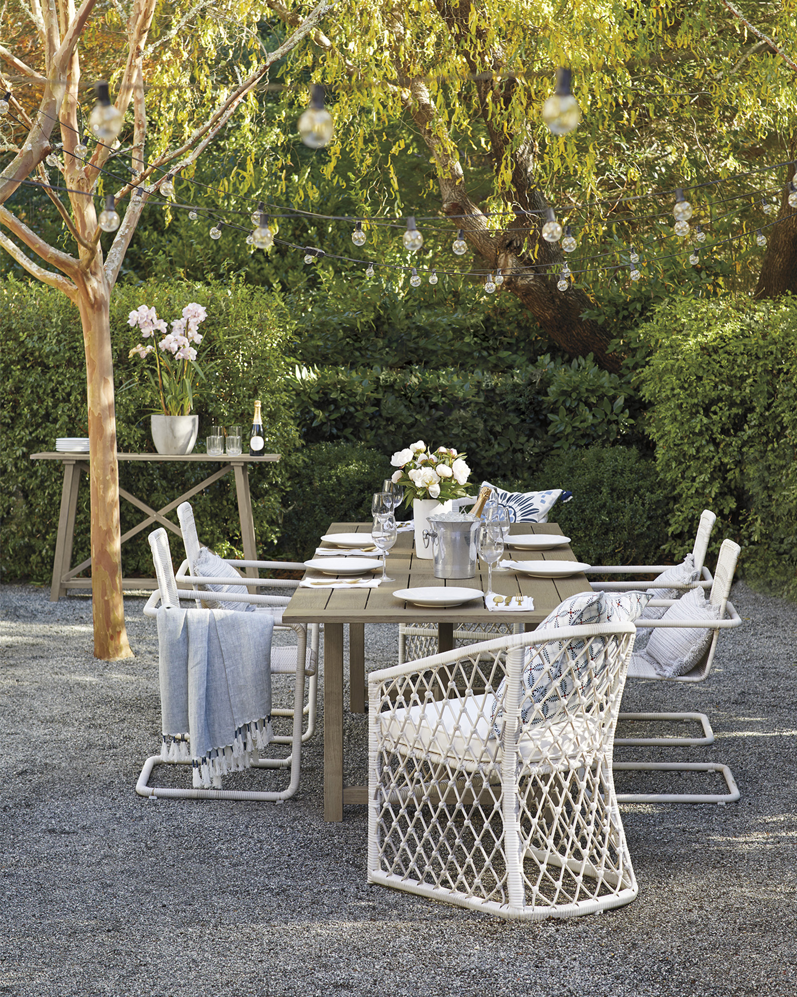 Capistrano Outdoor Dining Chair - Driftwood,